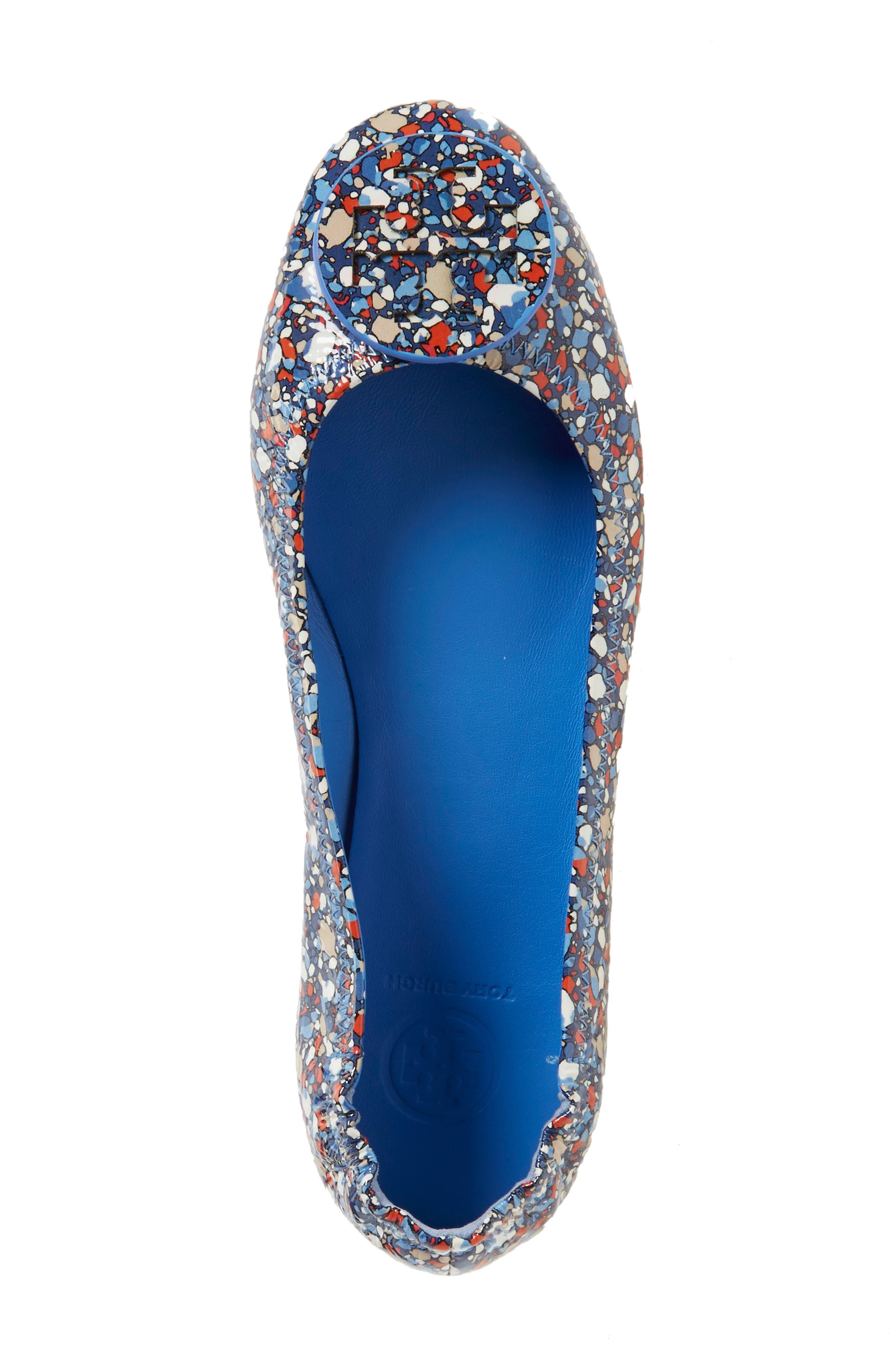 'Minnie' Travel Ballet Flat,                             Alternate thumbnail 190, color,