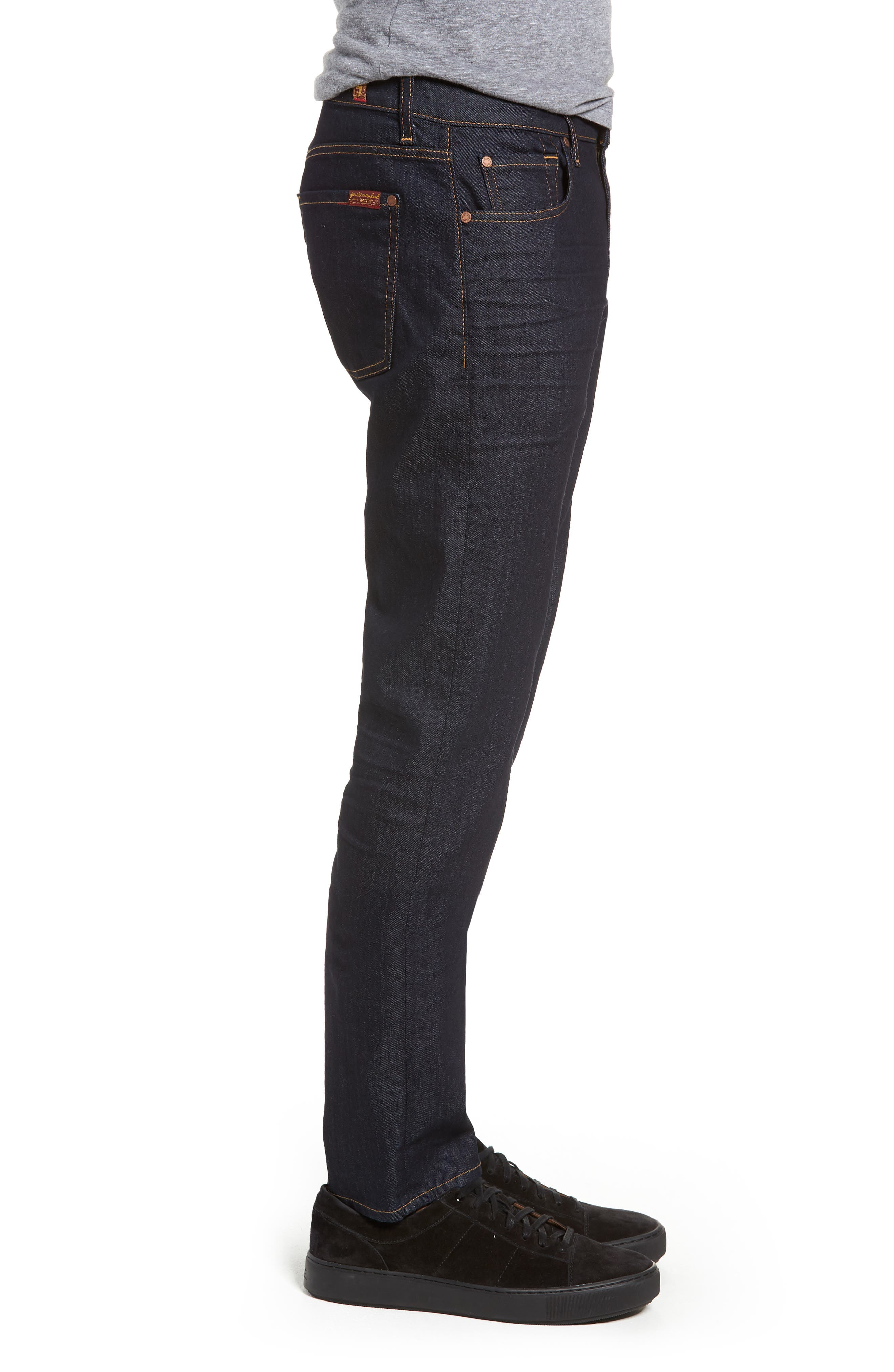 Adrien Slim Fit Jeans,                             Alternate thumbnail 3, color,                             404