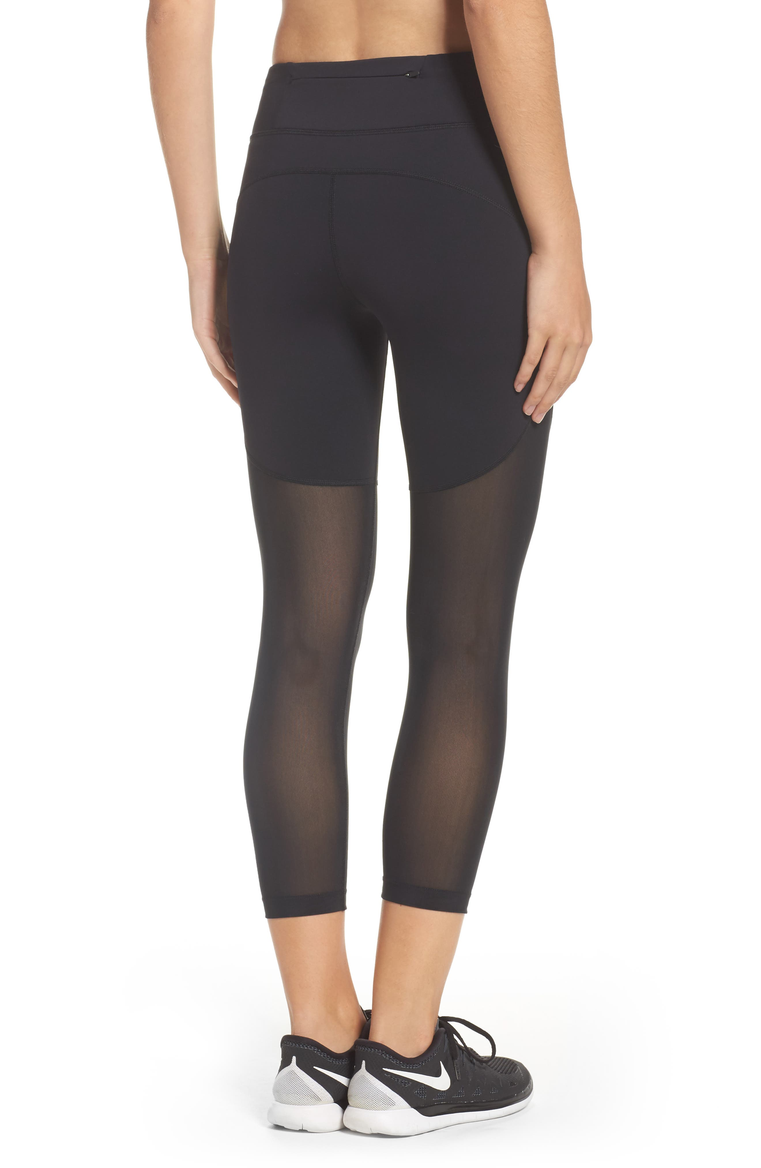 Power Epic Crop Tights,                             Alternate thumbnail 3, color,