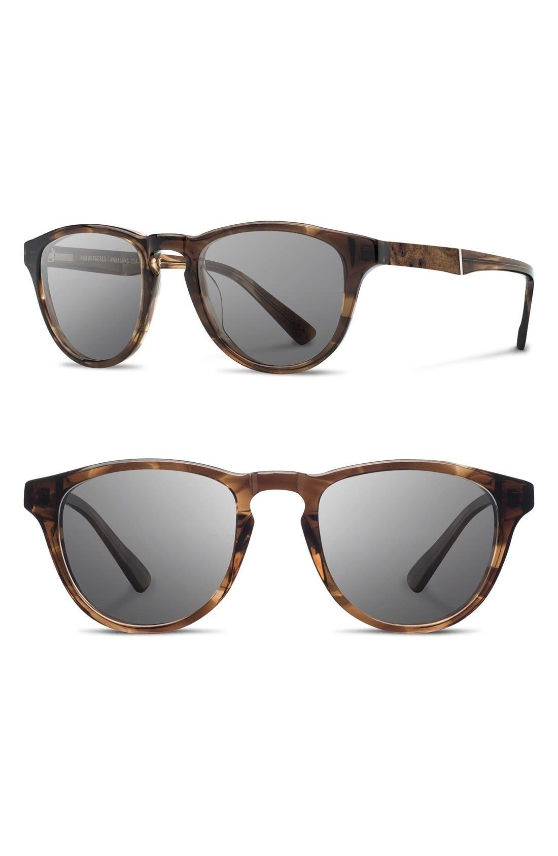 'Francis' 49mm Polarized Sunglasses,                             Main thumbnail 8, color,
