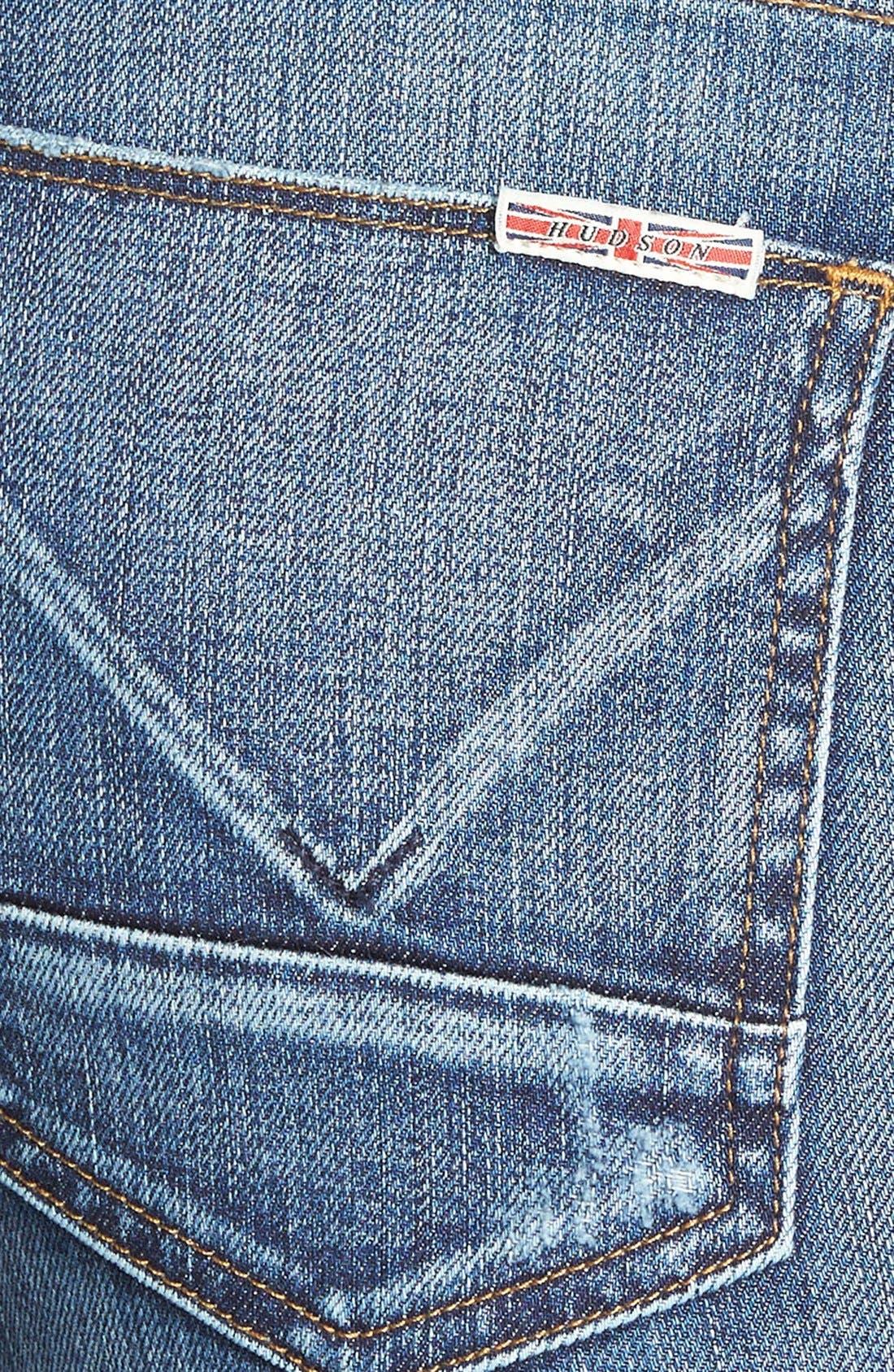 'Mia' Mid Rise Flare Jeans,                             Alternate thumbnail 2, color,                             423