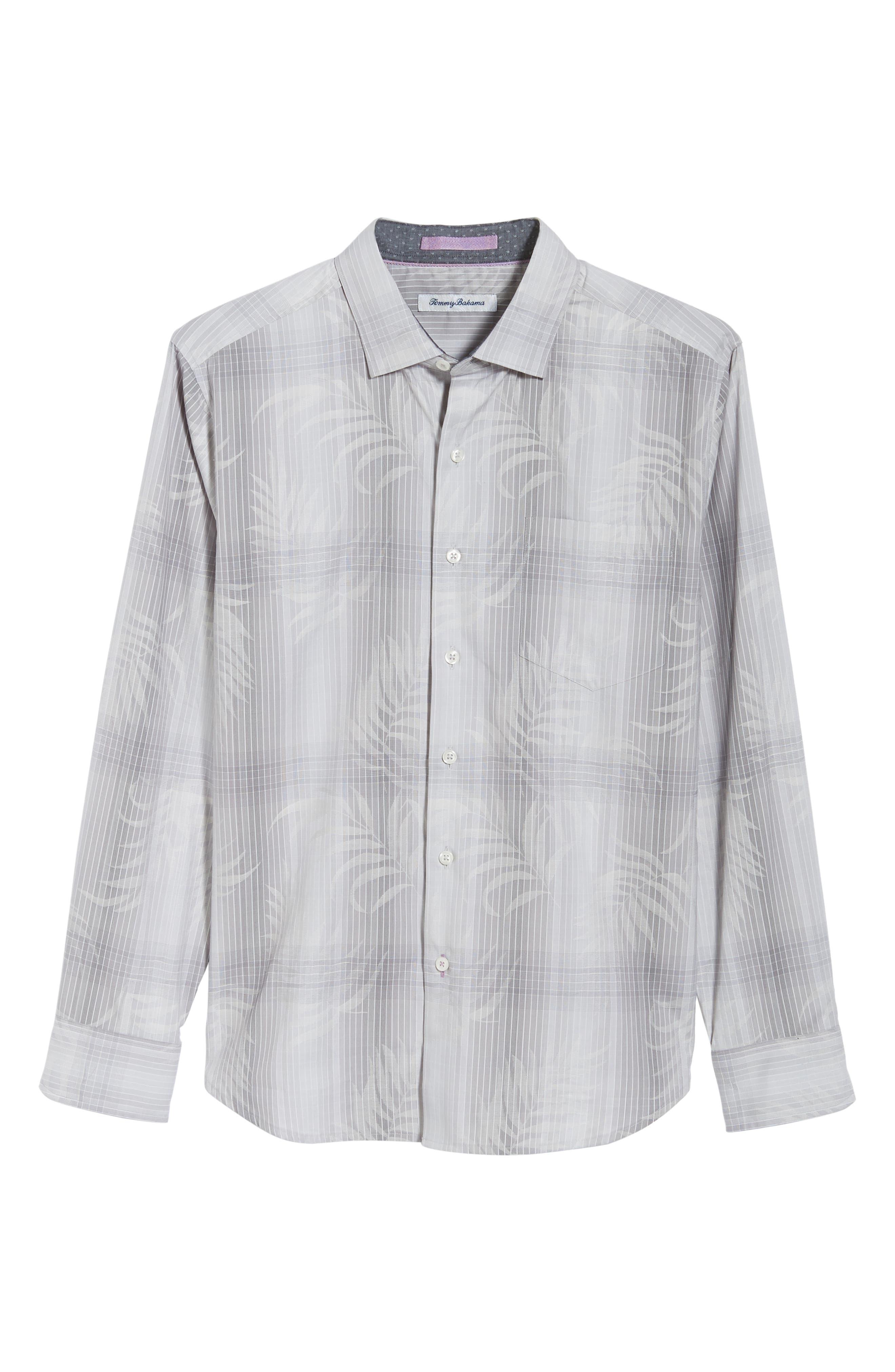 Primo Palms Classic Fit Plaid Sport Shirt,                             Alternate thumbnail 6, color,                             050