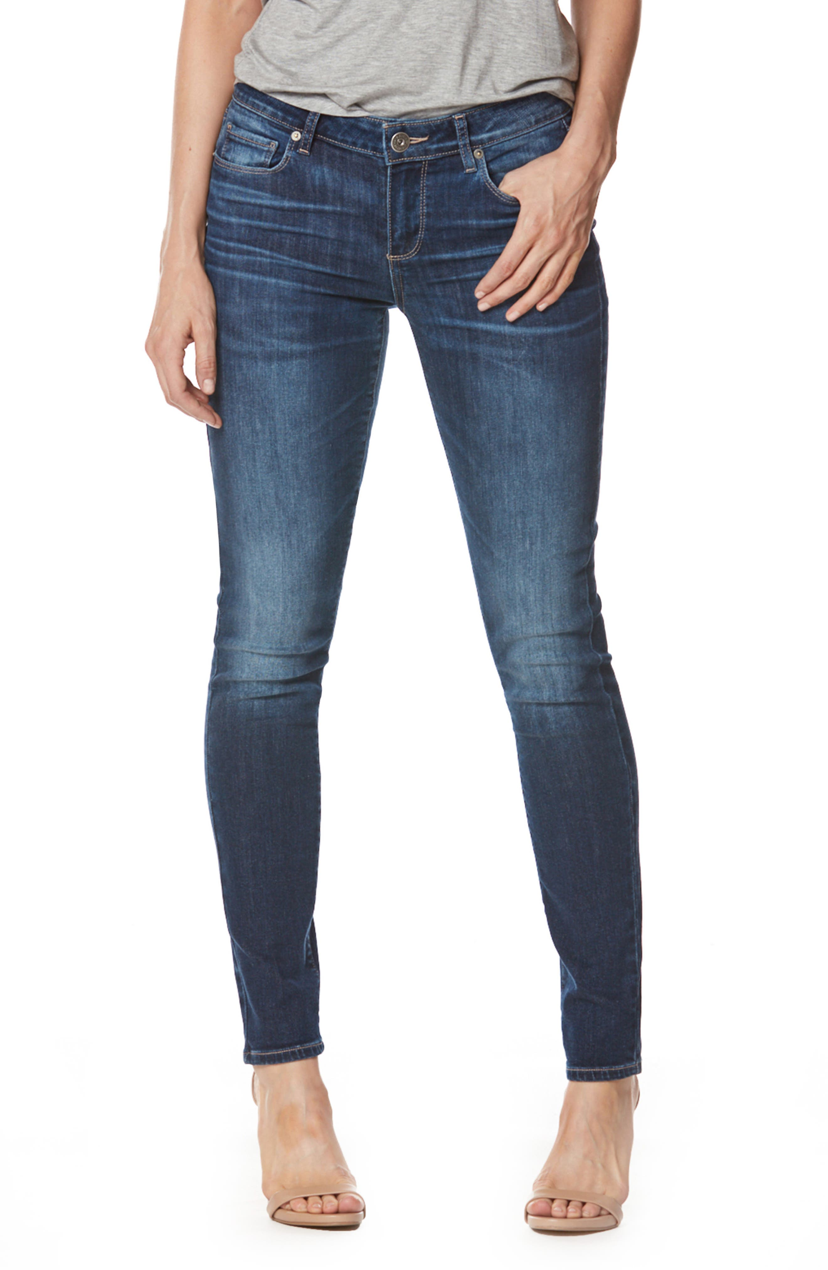 Transcend - Verdugo Ultra Skinny Jeans,                         Main,                         color, 400