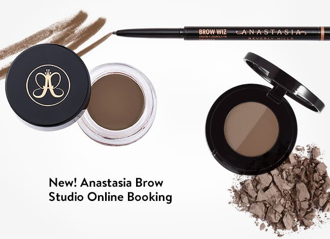 Anastasia Brow Studio online booking.