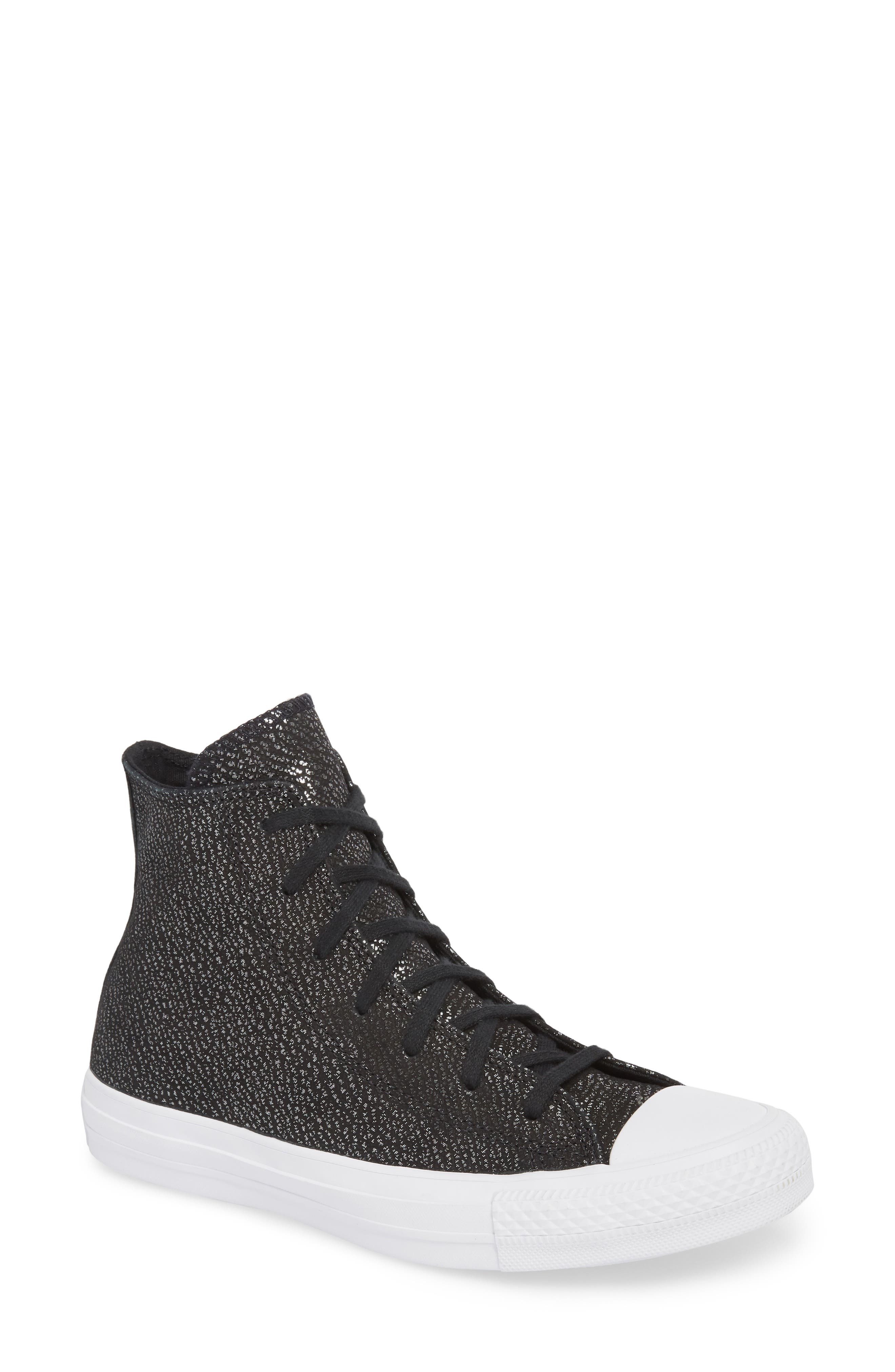 Chuck Taylor<sup>®</sup> All Star<sup>®</sup> Tipped Metallic High Top Sneaker,                             Main thumbnail 2, color,