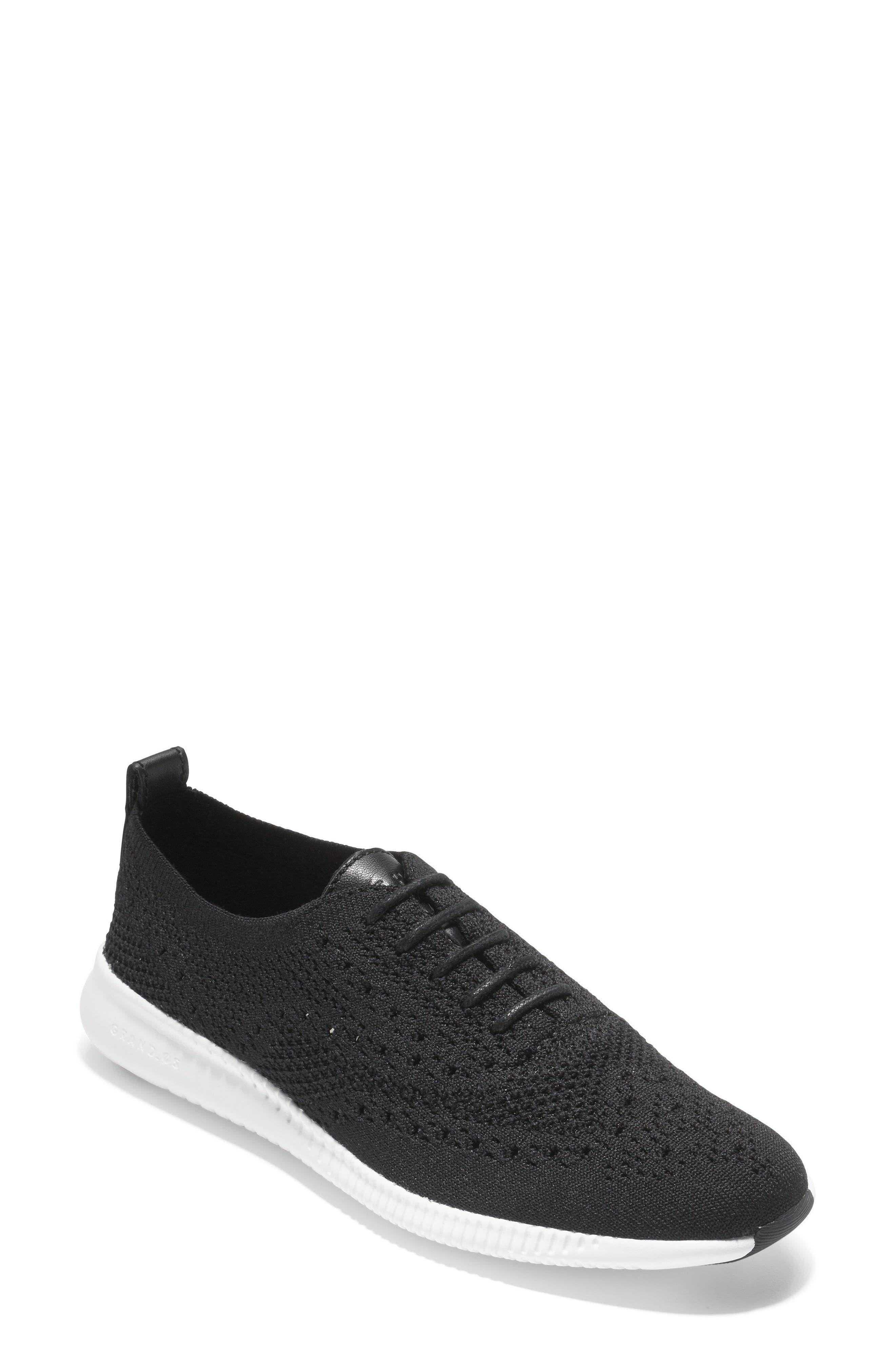 2.ZERØGRAND Stitchlite Wingtip Sneaker,                         Main,                         color, 001