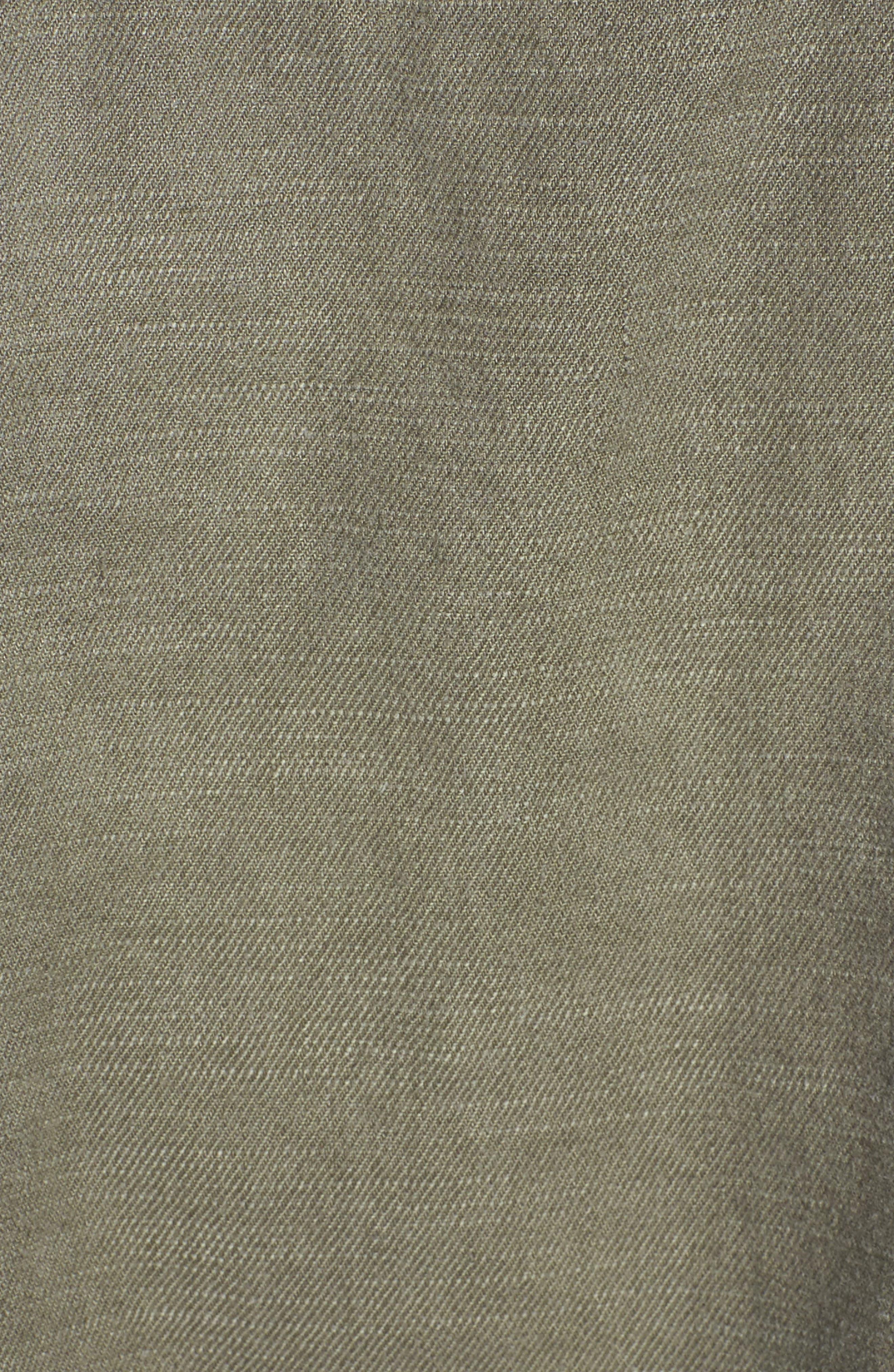 Linen Blend Drape Jacket,                             Alternate thumbnail 11, color,