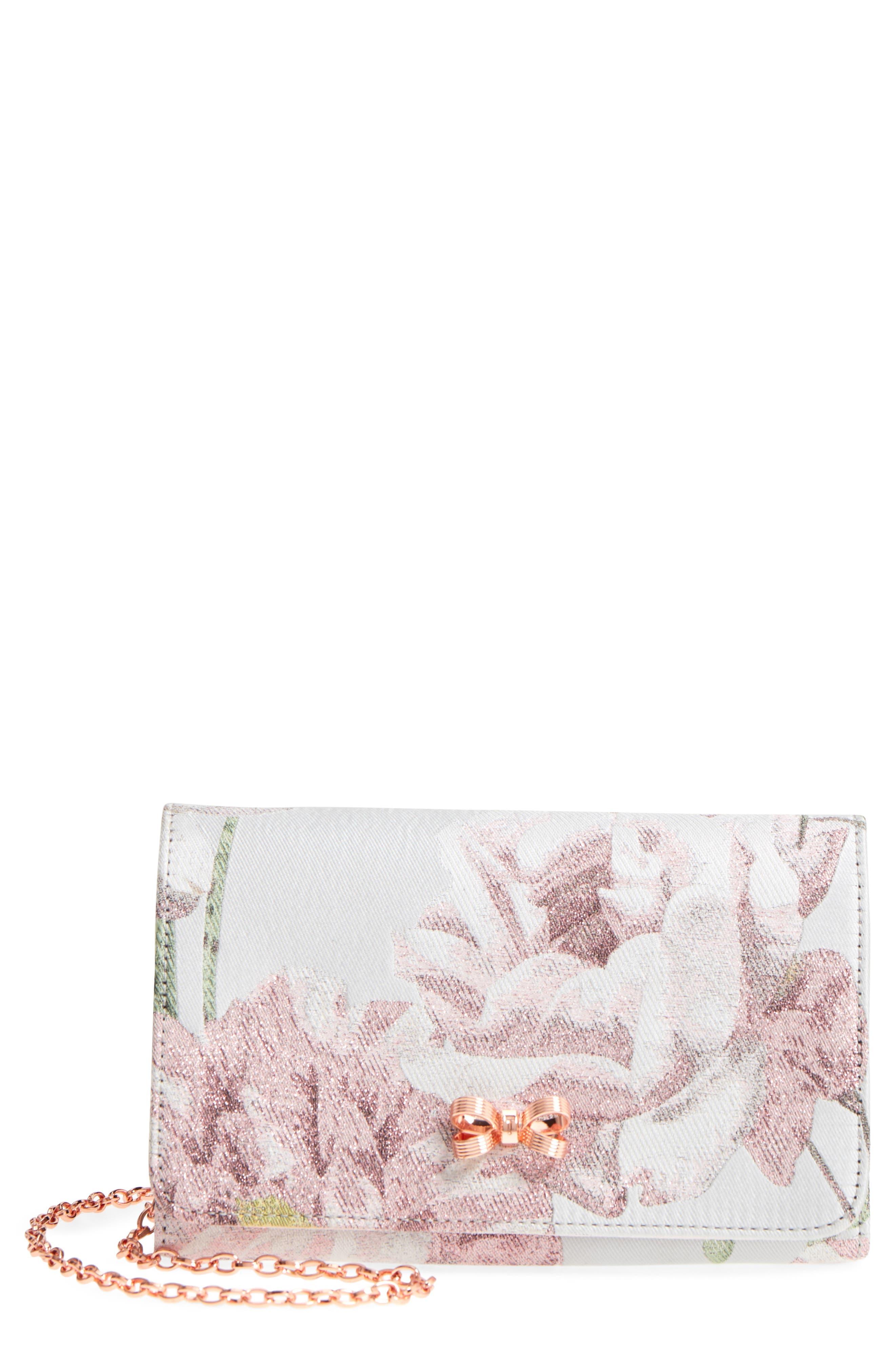 Erika - Metallic Jacquard Evening Bag,                             Main thumbnail 1, color,                             030