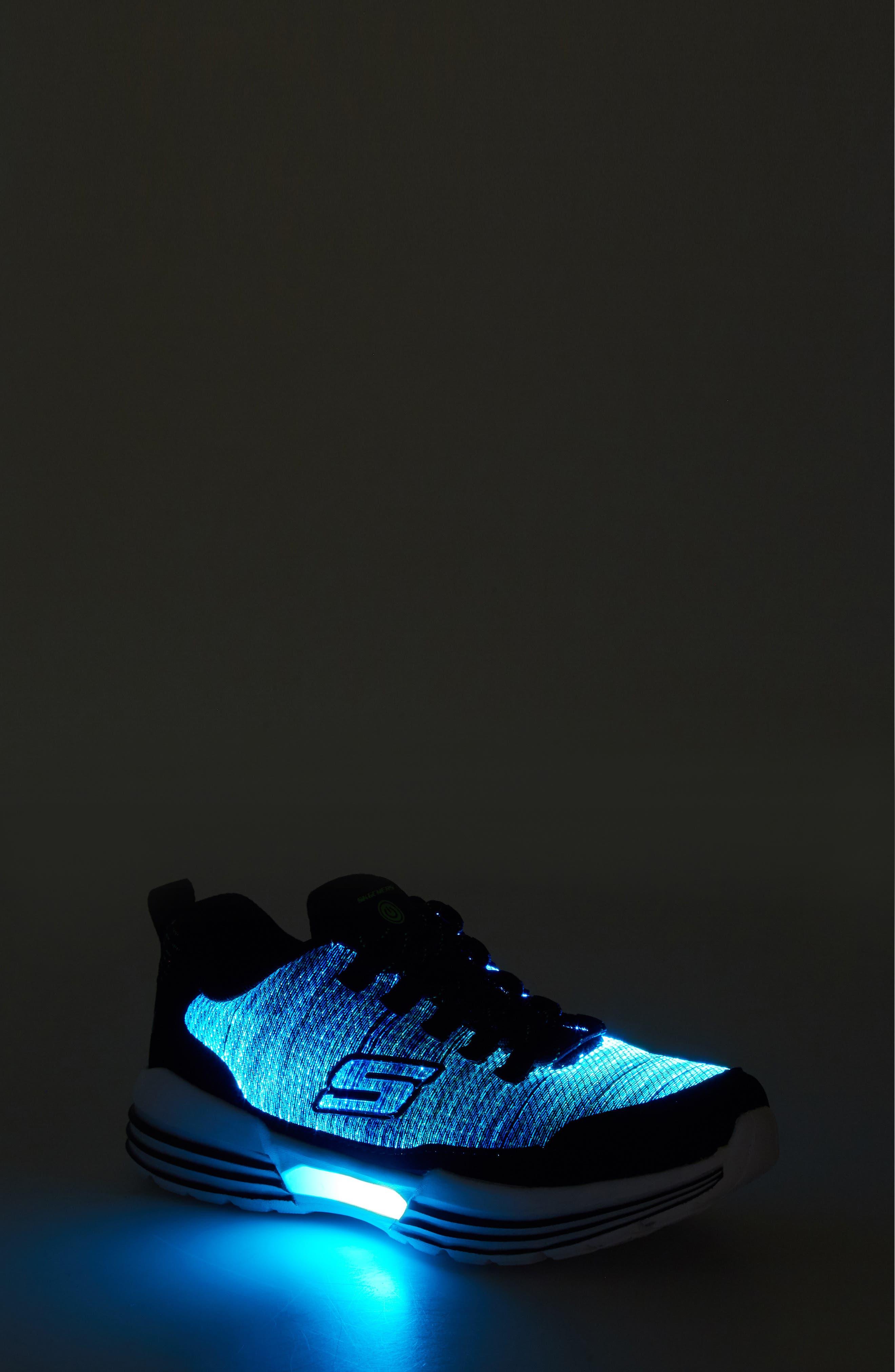 Luminators Sneaker,                             Alternate thumbnail 7, color,                             BLACK/ LIME