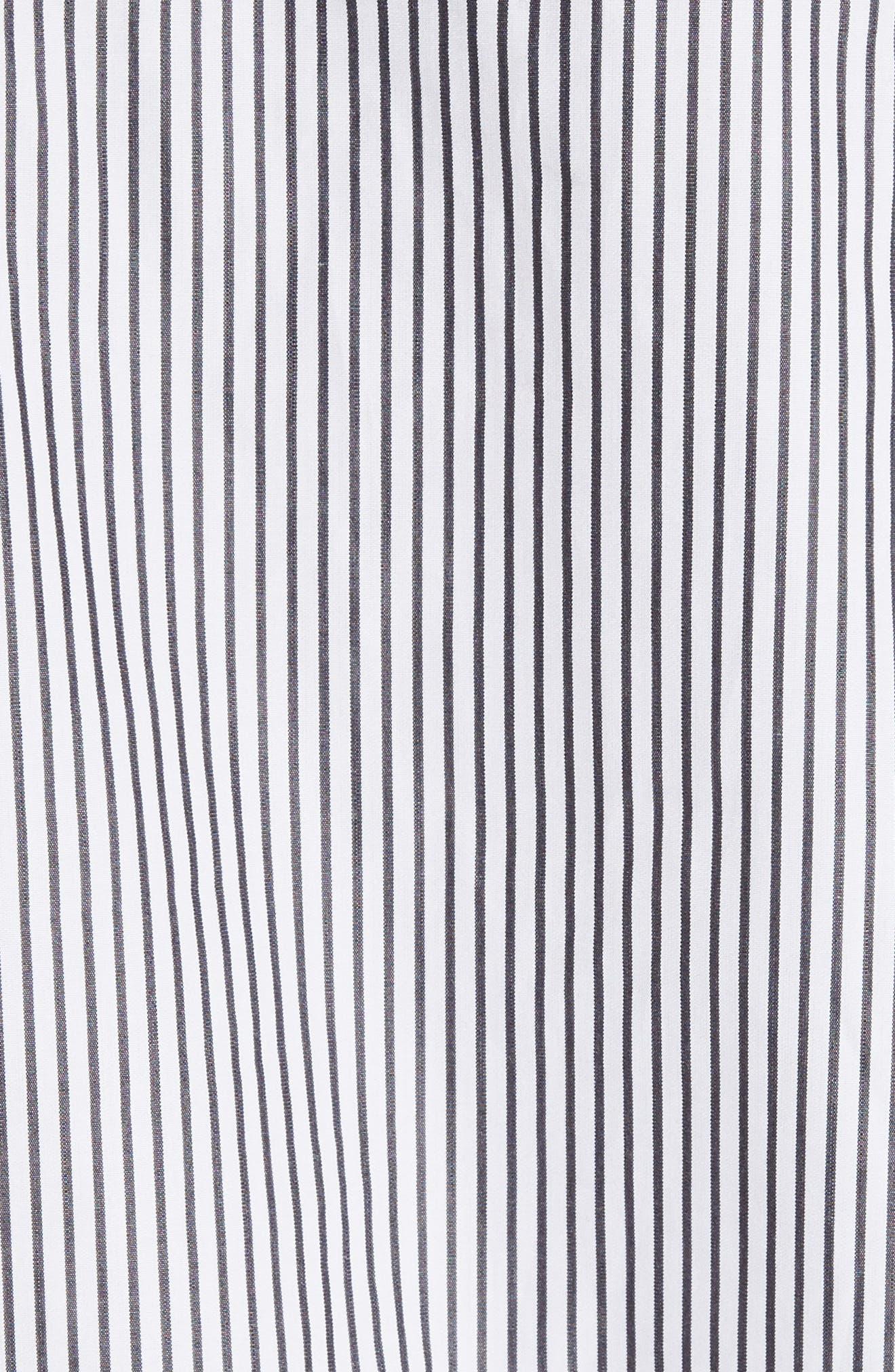 Bow Sleeve Shirt,                             Alternate thumbnail 5, color,                             001