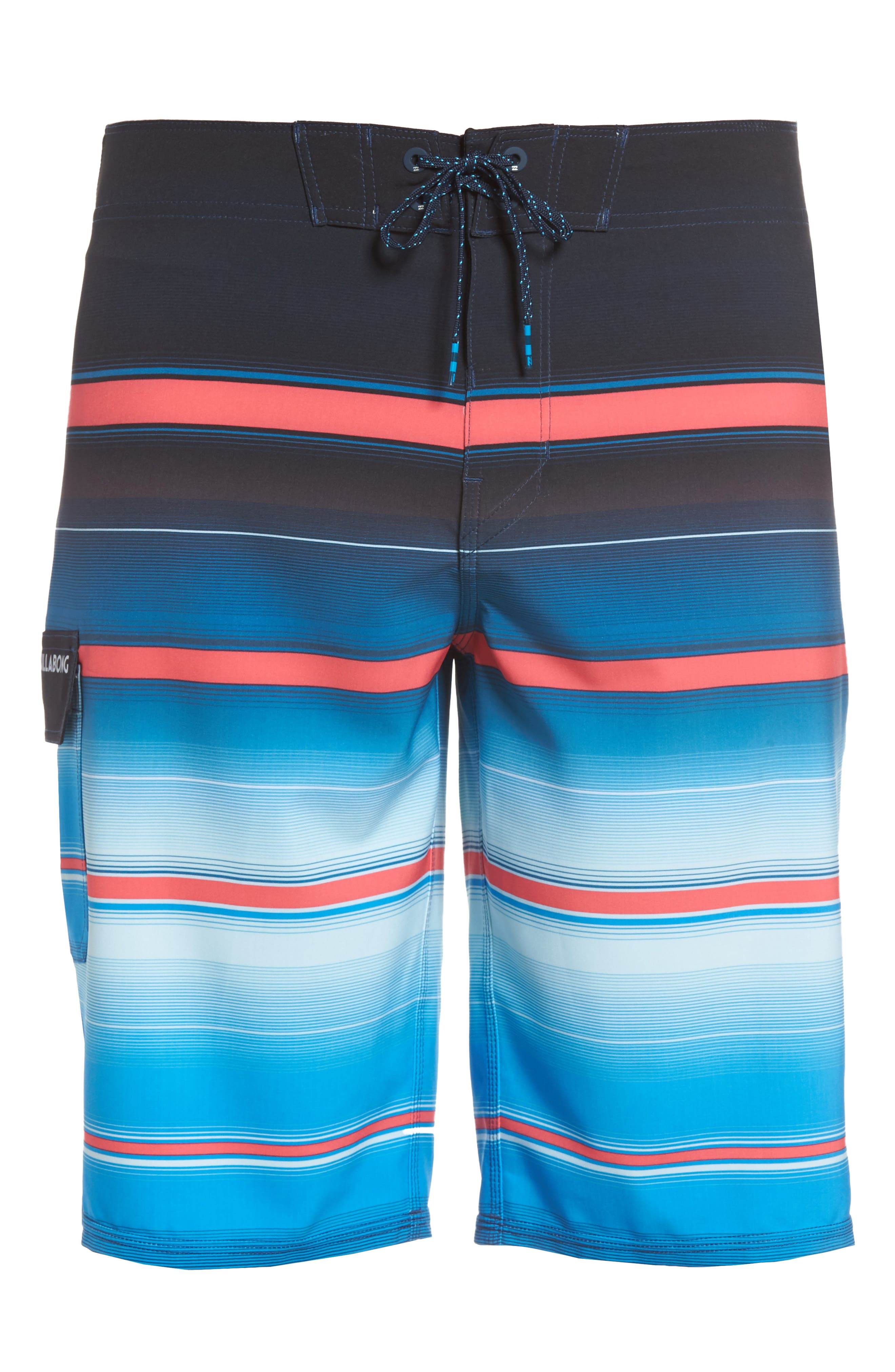 All Day X Stripe Board Shorts,                             Alternate thumbnail 27, color,