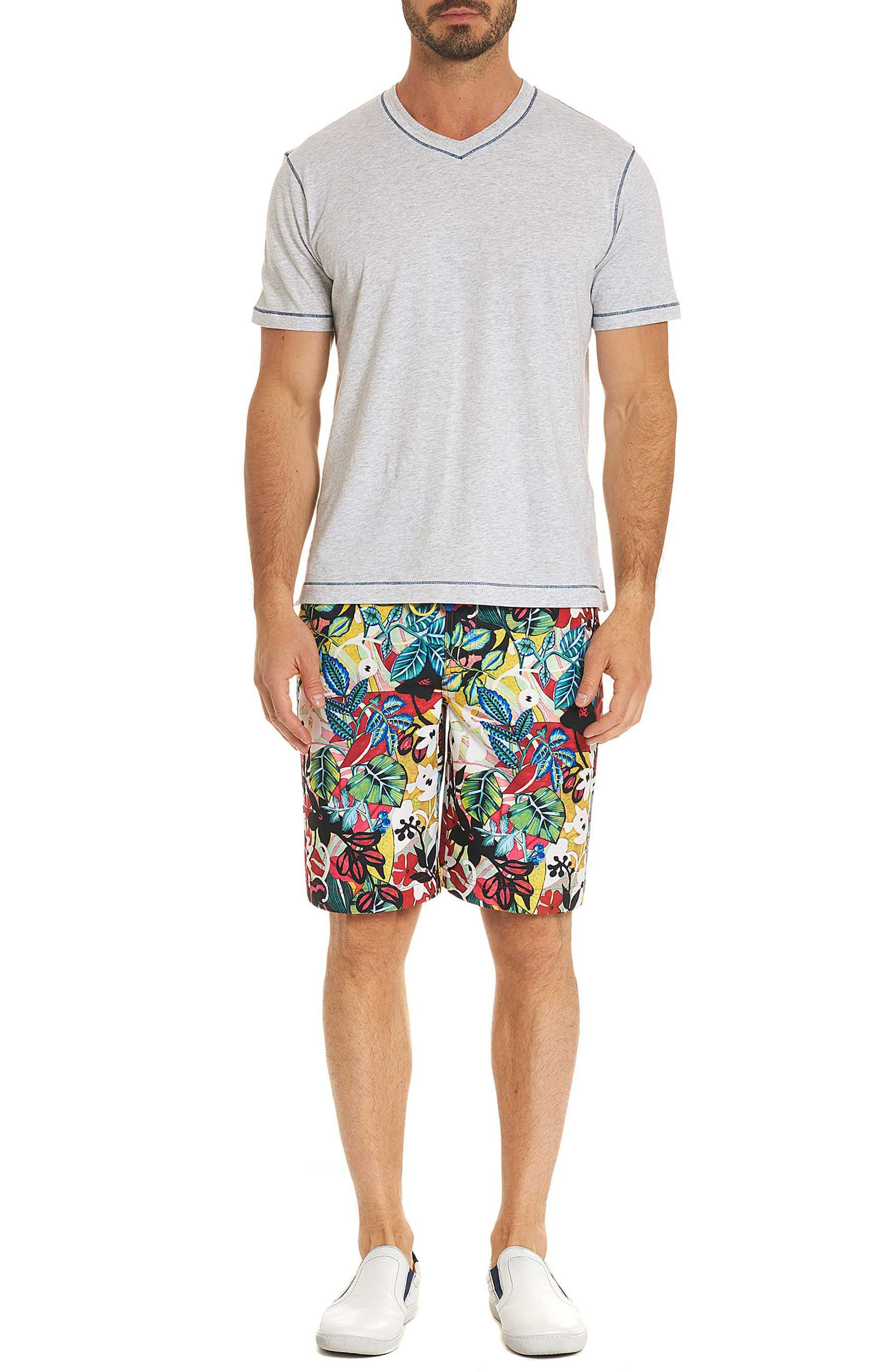 Barbarito Classic Fit Board Shorts,                             Alternate thumbnail 7, color,                             MULTI