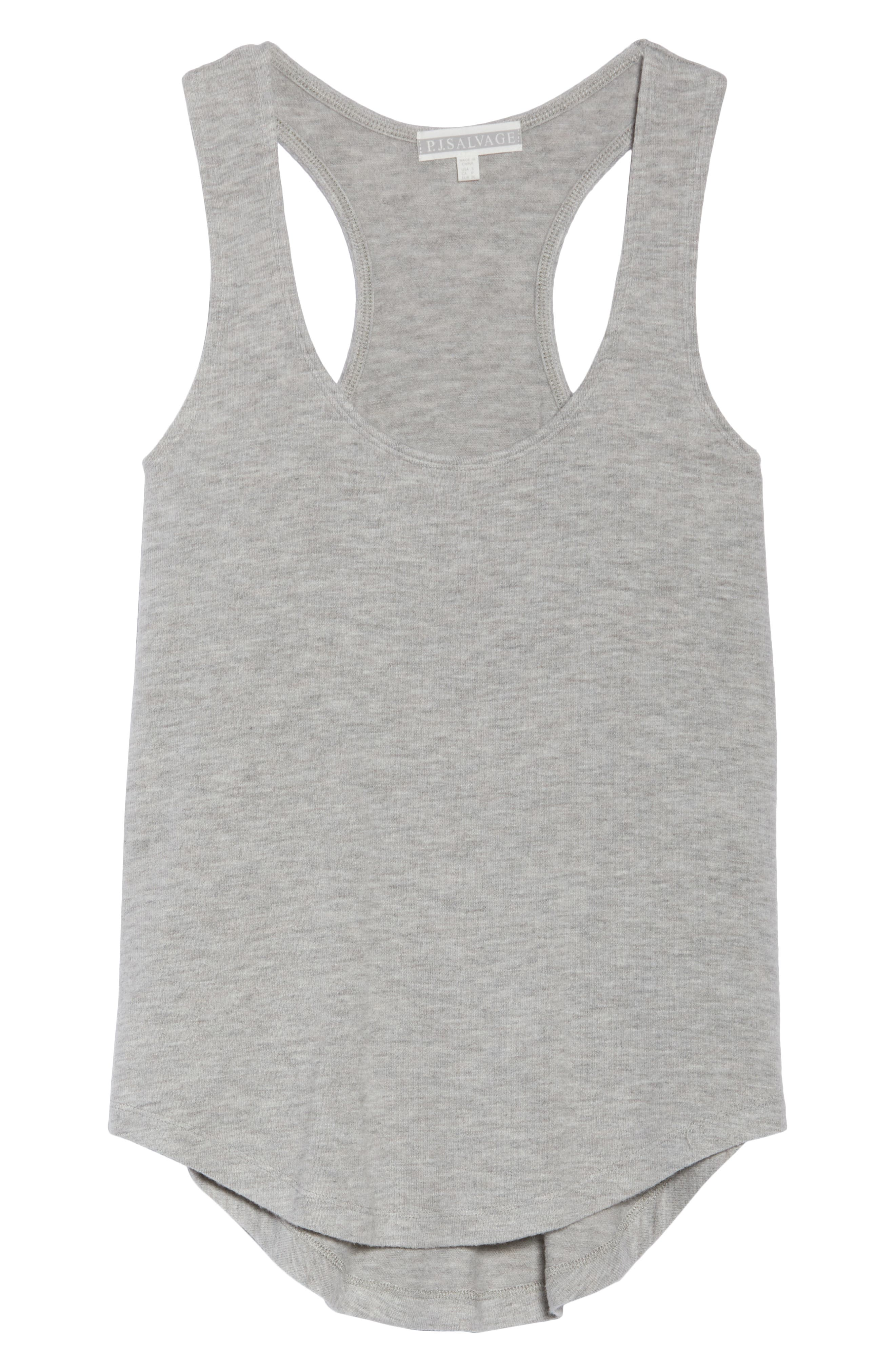 Racerback Tank,                             Alternate thumbnail 6, color,                             H GREY
