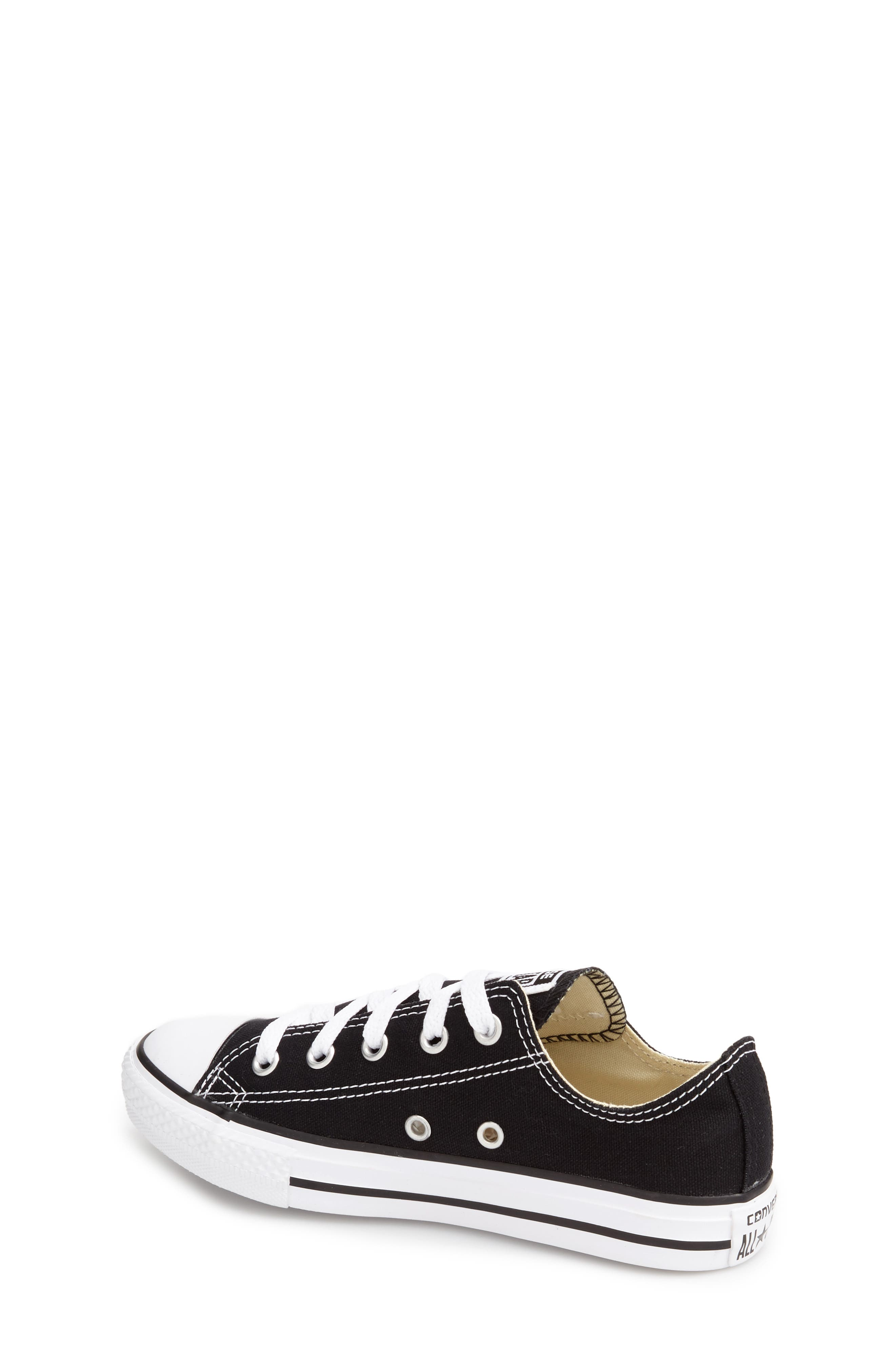 Chuck Taylor<sup>®</sup> Sneaker,                             Alternate thumbnail 2, color,                             BLACK