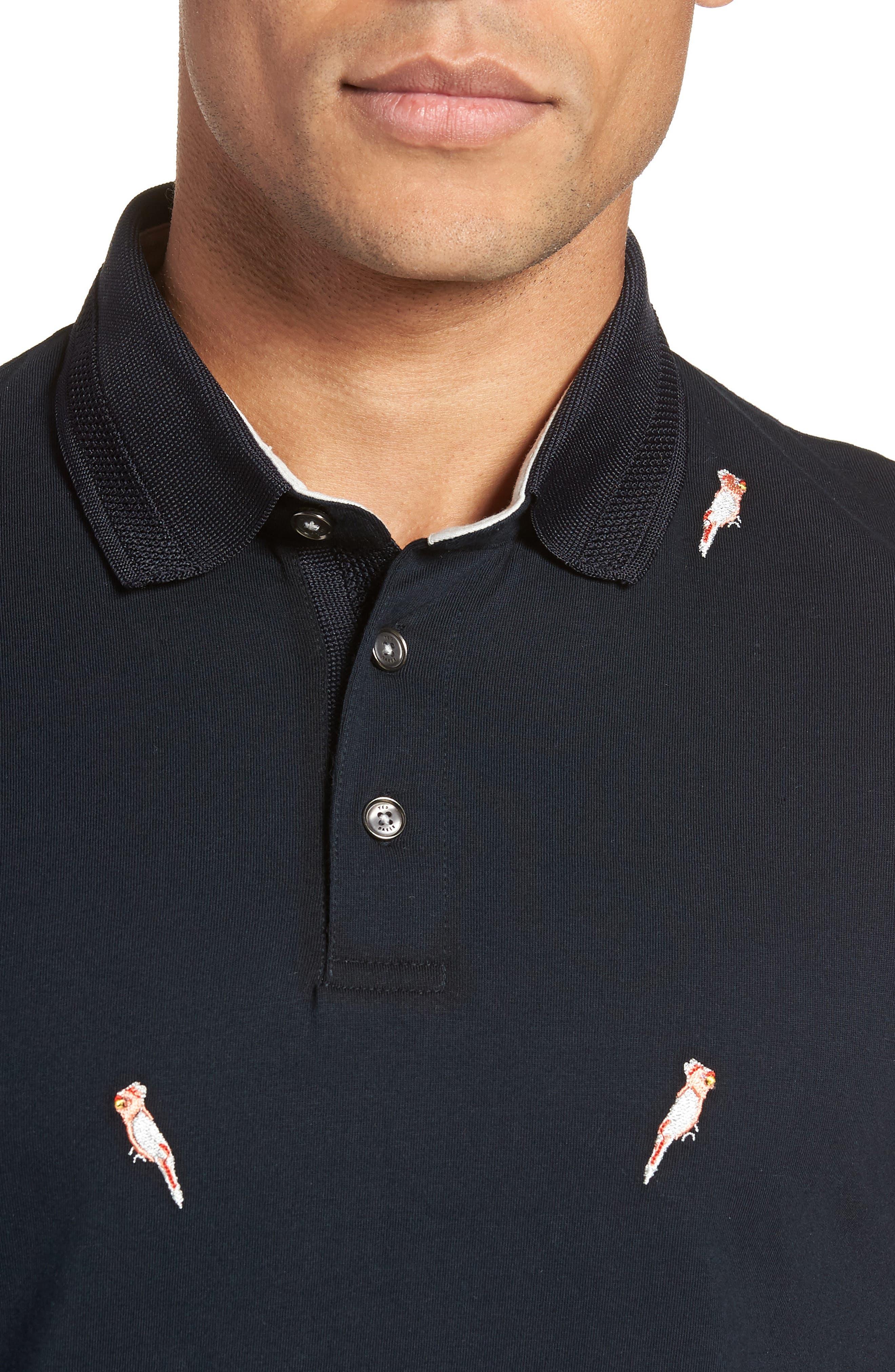 Scrafft Polo Shirt,                             Alternate thumbnail 4, color,