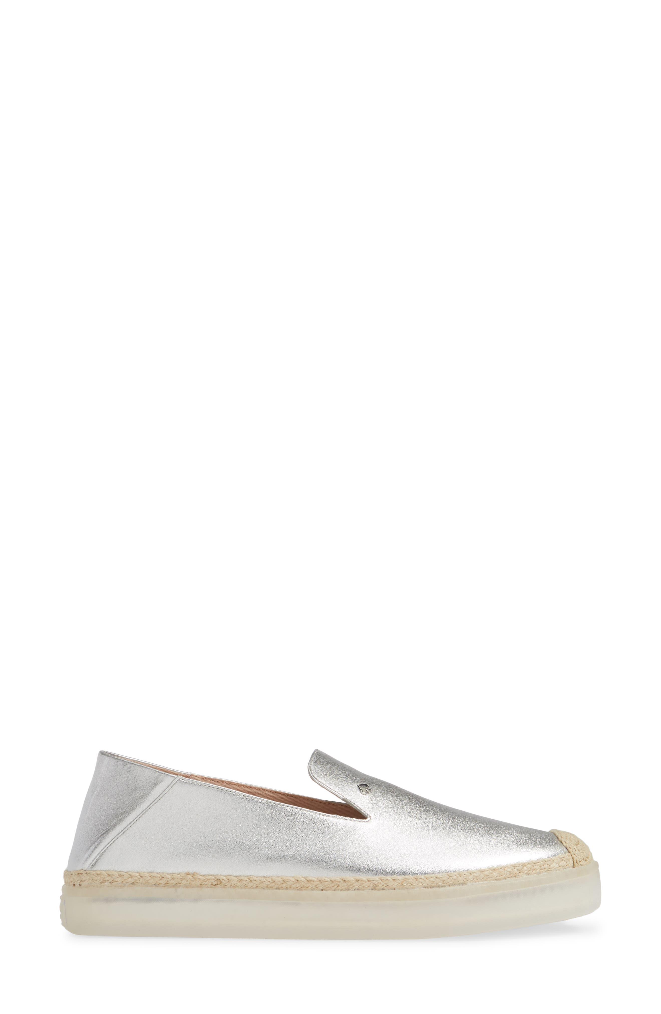 lisa slip-on sneaker,                             Alternate thumbnail 2, color,                             SILVER