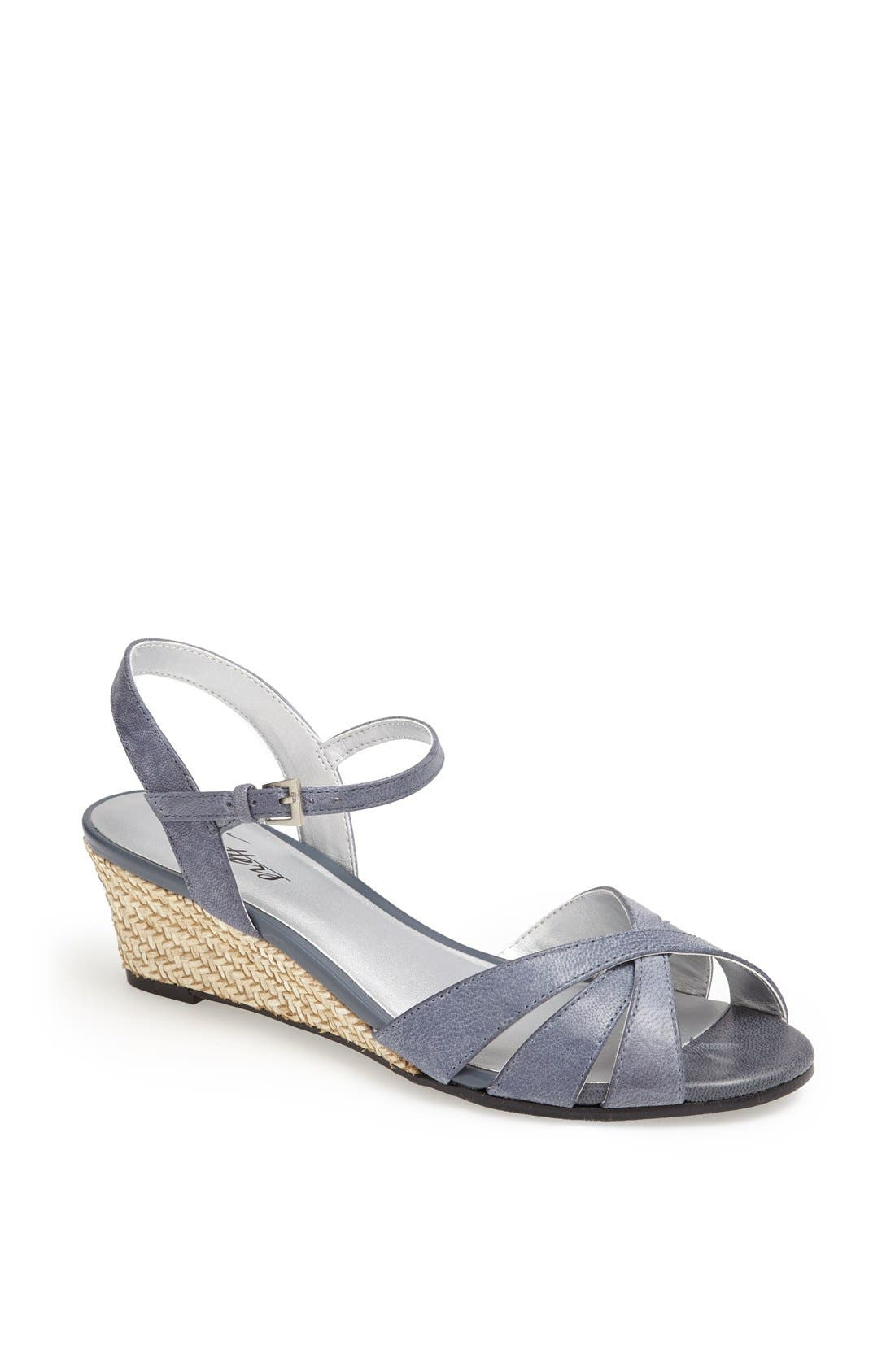 'Mickey' Wedge Sandal,                             Main thumbnail 9, color,