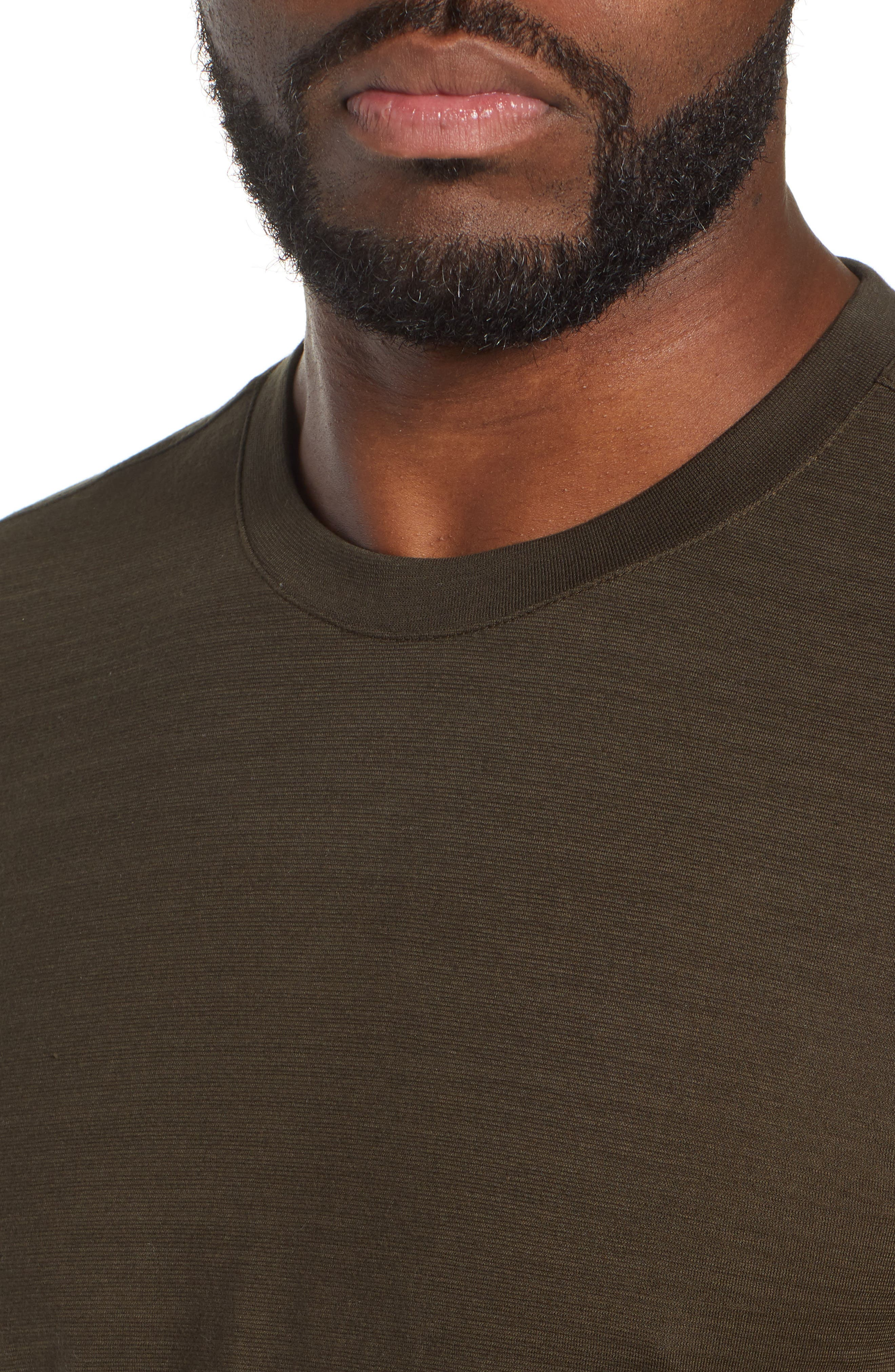 Tenison Long Sleeve Crewneck T-Shirt,                             Alternate thumbnail 4, color,                             DARK GREEN