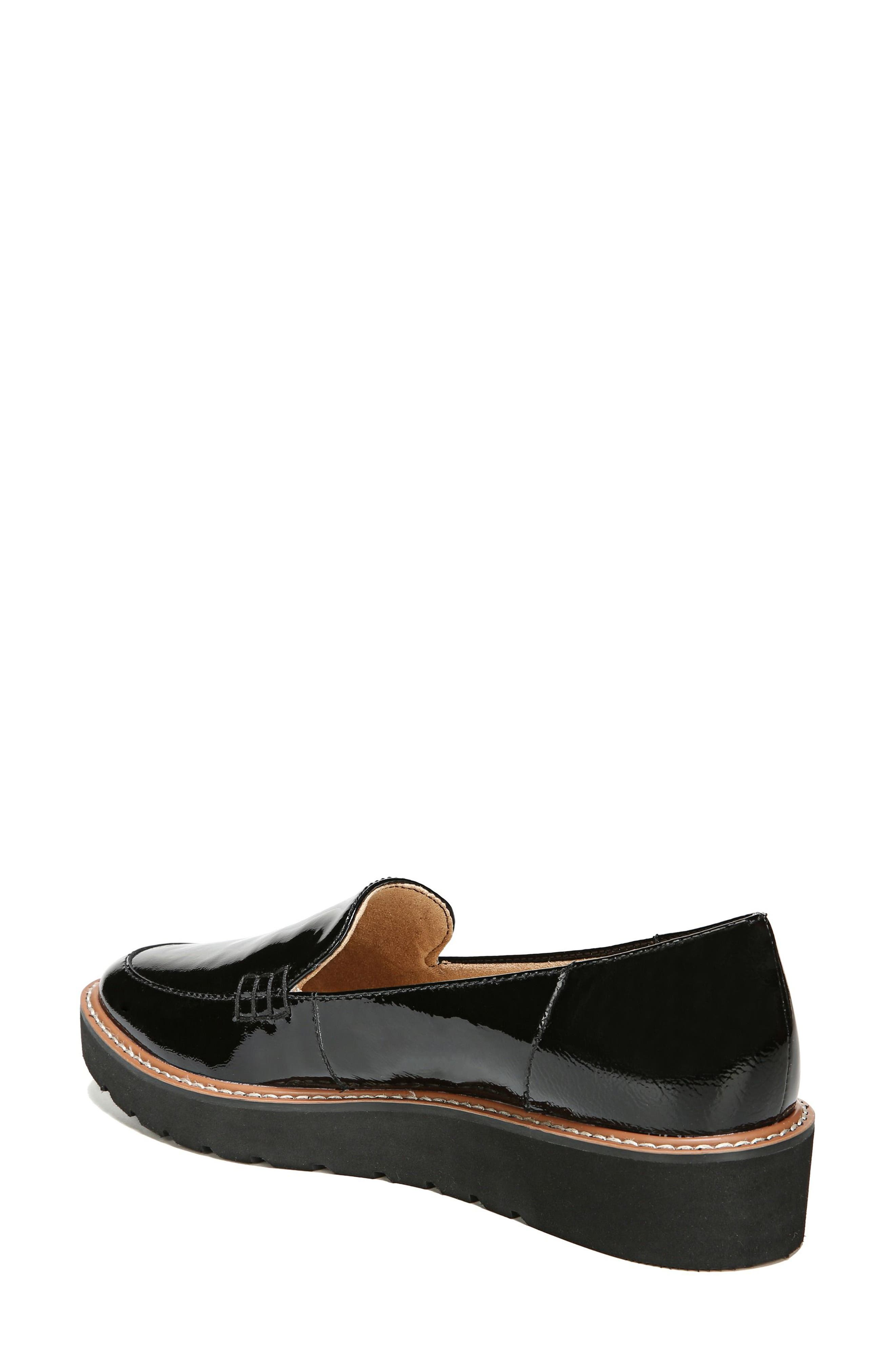 Andie Loafer,                             Alternate thumbnail 7, color,                             BLACK PATENT
