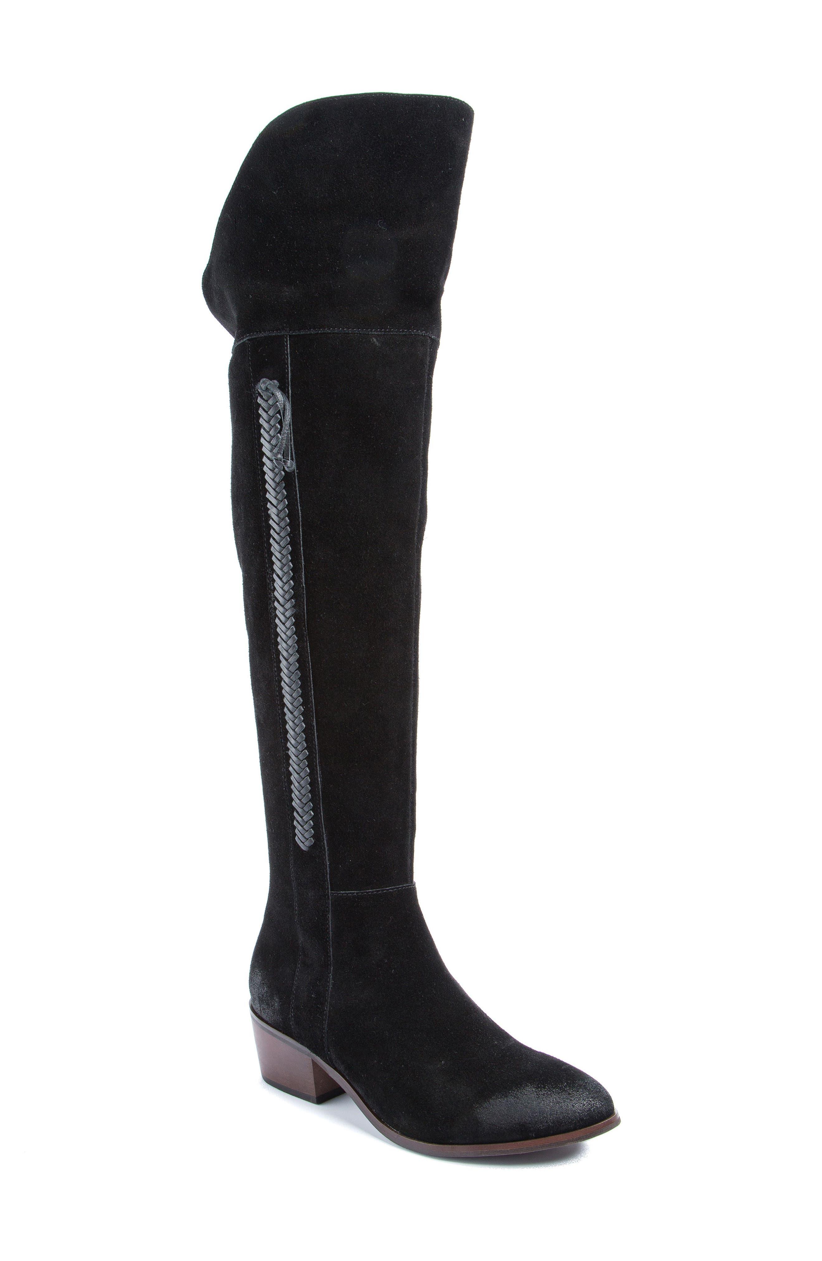 Sabine Knee High Boot,                         Main,                         color, 001