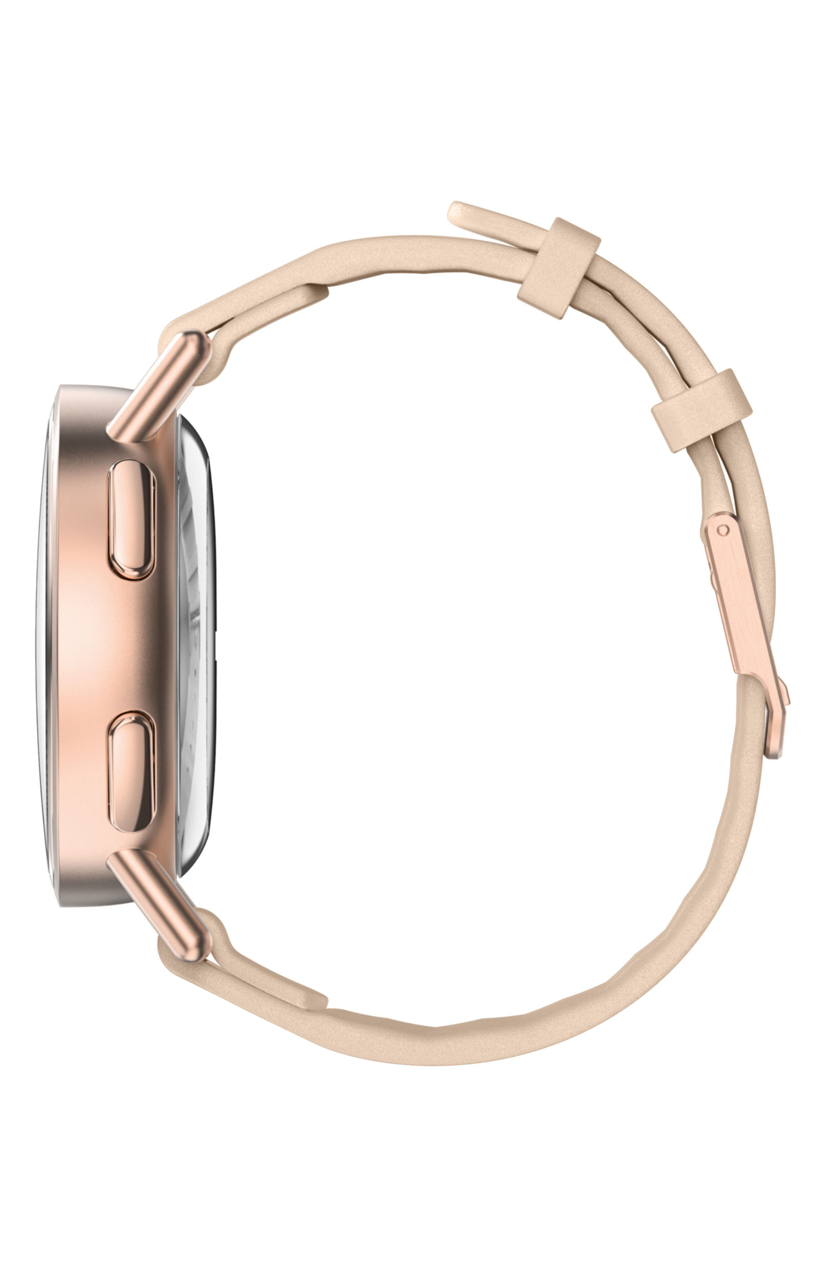 Path Strap Smartwatch, 36mm,                             Alternate thumbnail 3, color,                             ROSE GOLD