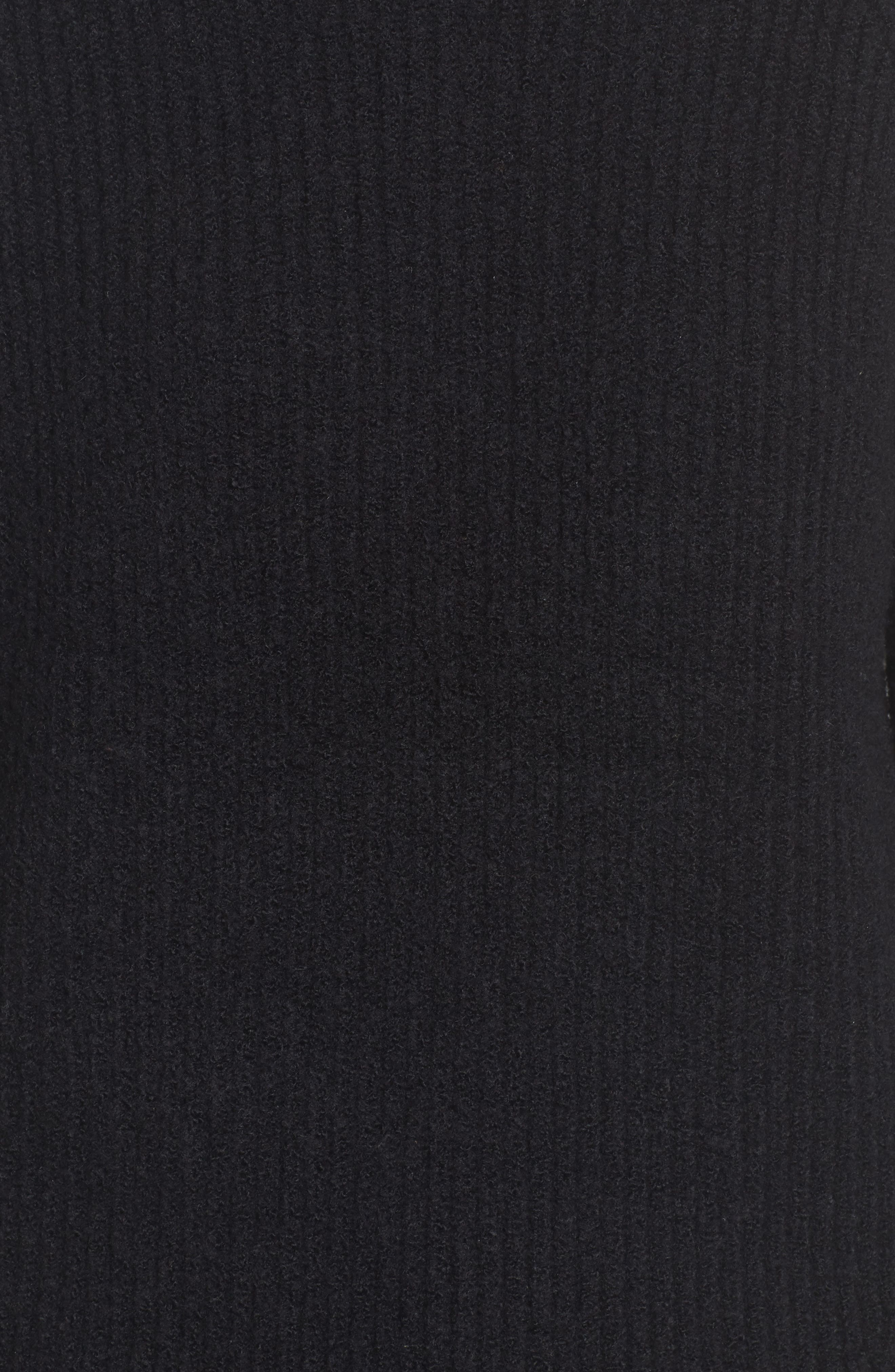 Northfield Mock Neck Sweater,                             Alternate thumbnail 5, color,                             001