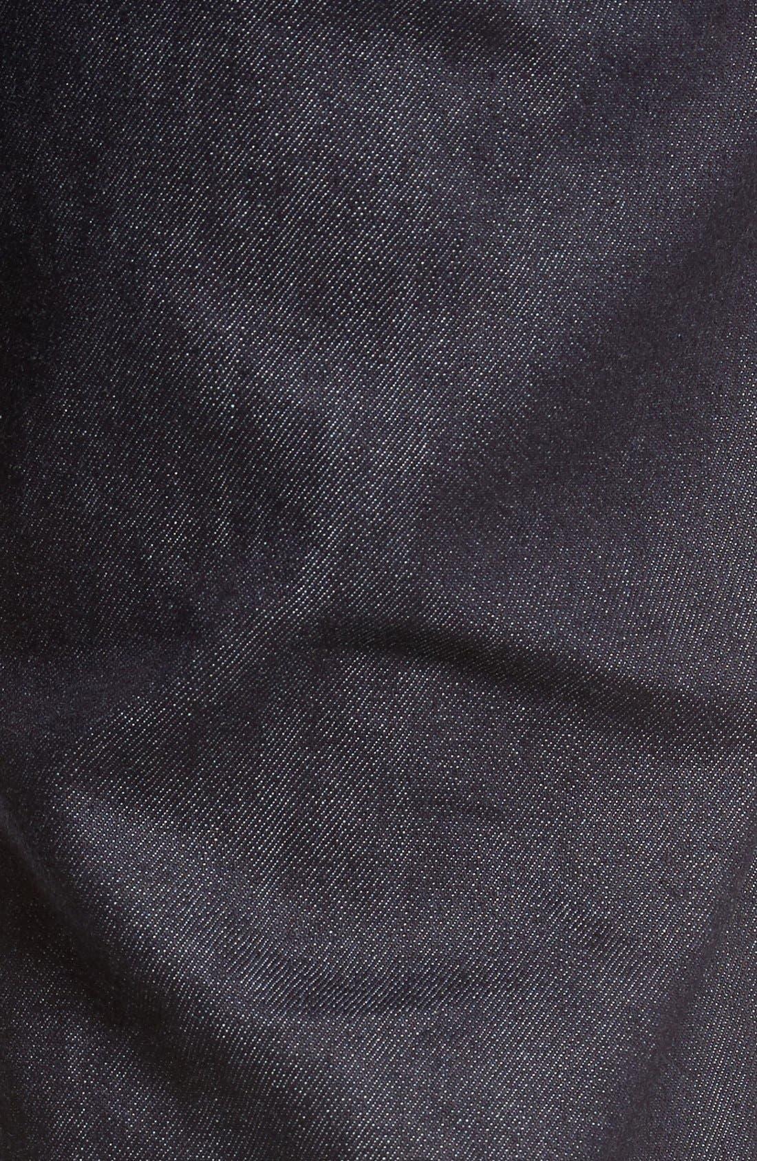 Core Slim Straight Leg Jeans,                             Alternate thumbnail 6, color,
