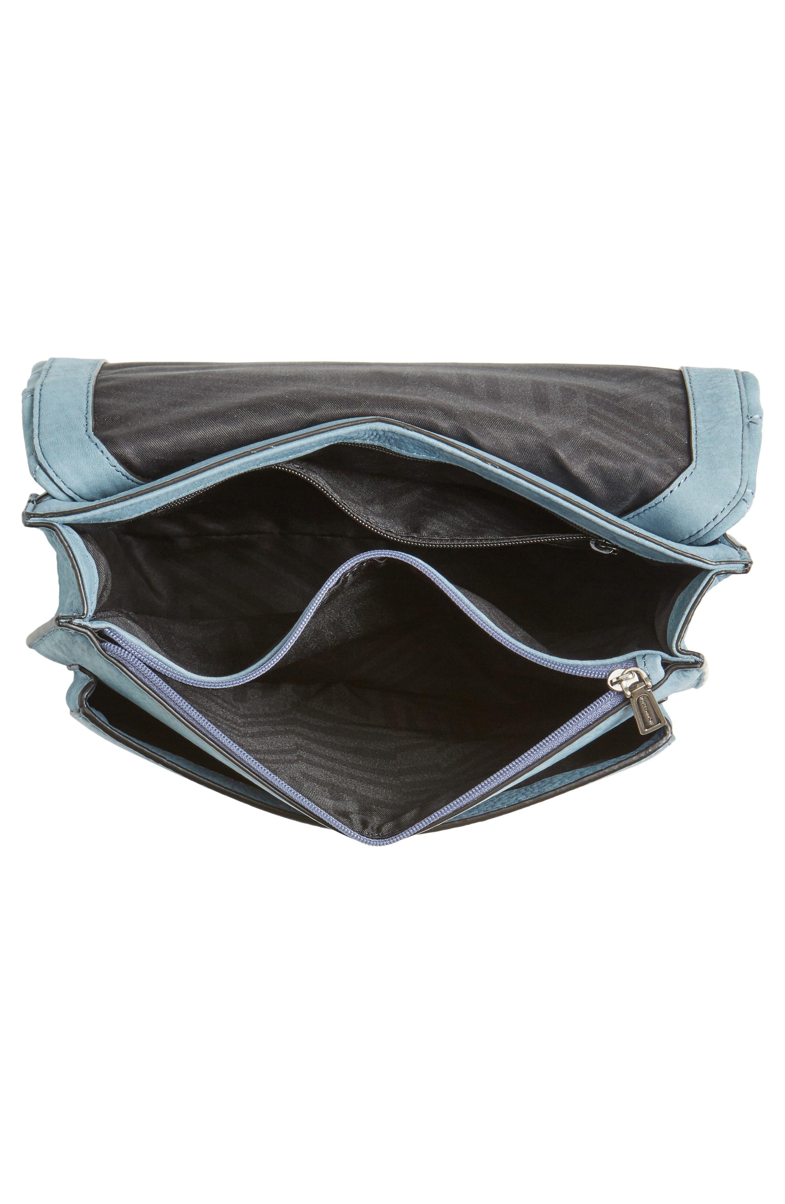 Medium Je T'aime Convertible Leather Crossbody Bag,                             Alternate thumbnail 35, color,
