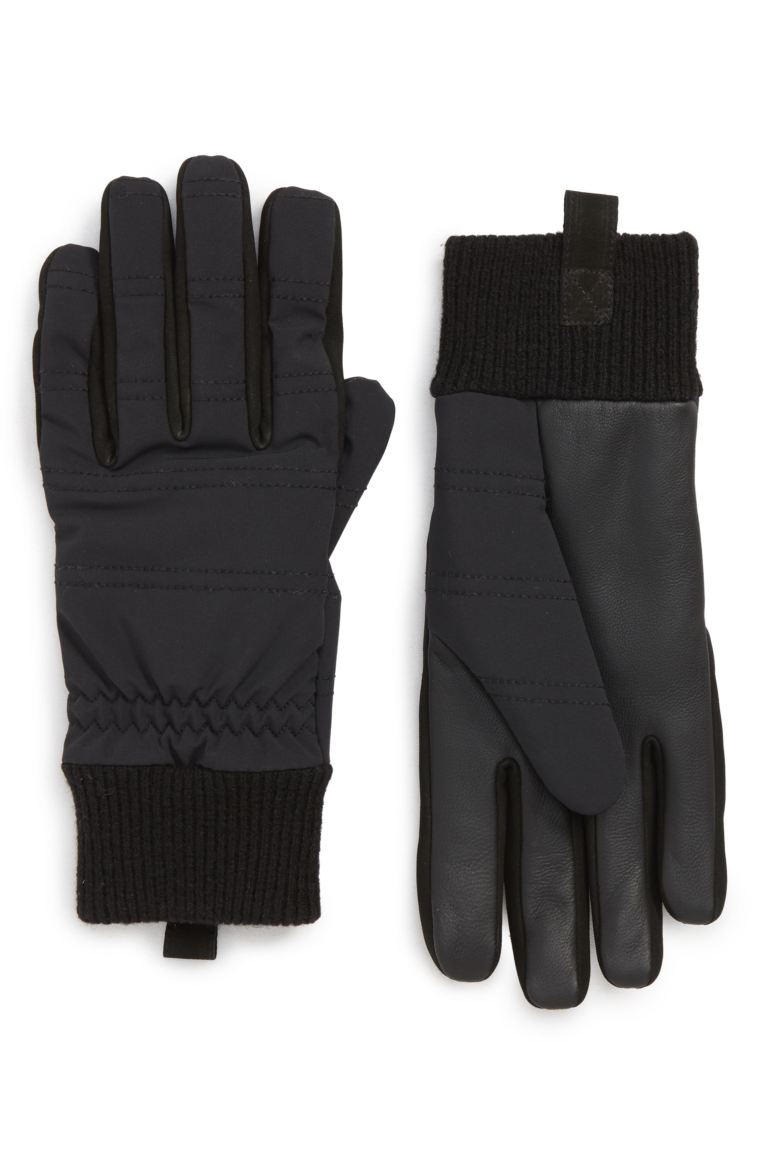 All Weather Gloves,                             Main thumbnail 1, color,                             BLACK