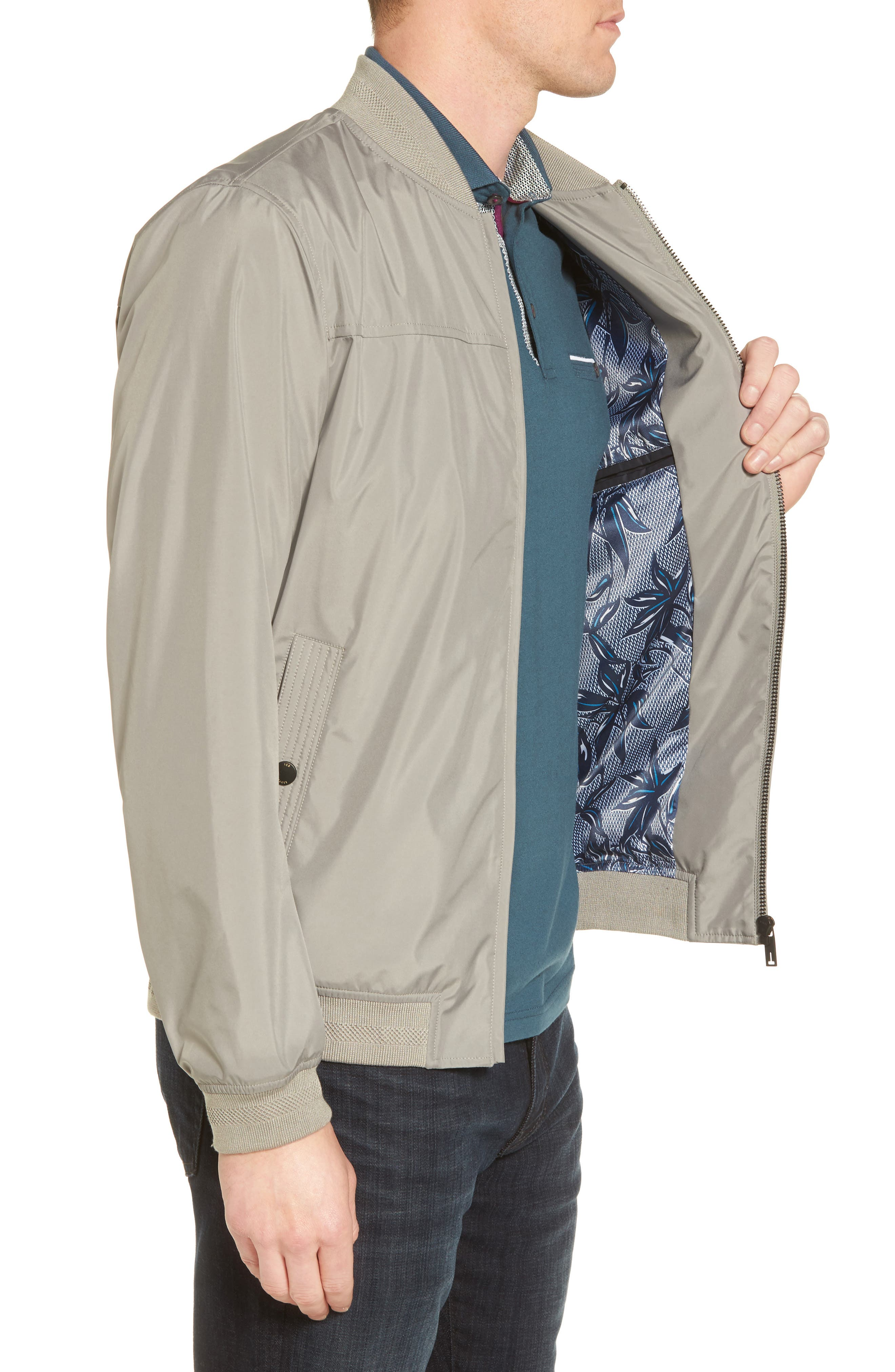 Ohta Bomber Jacket,                             Alternate thumbnail 3, color,                             030