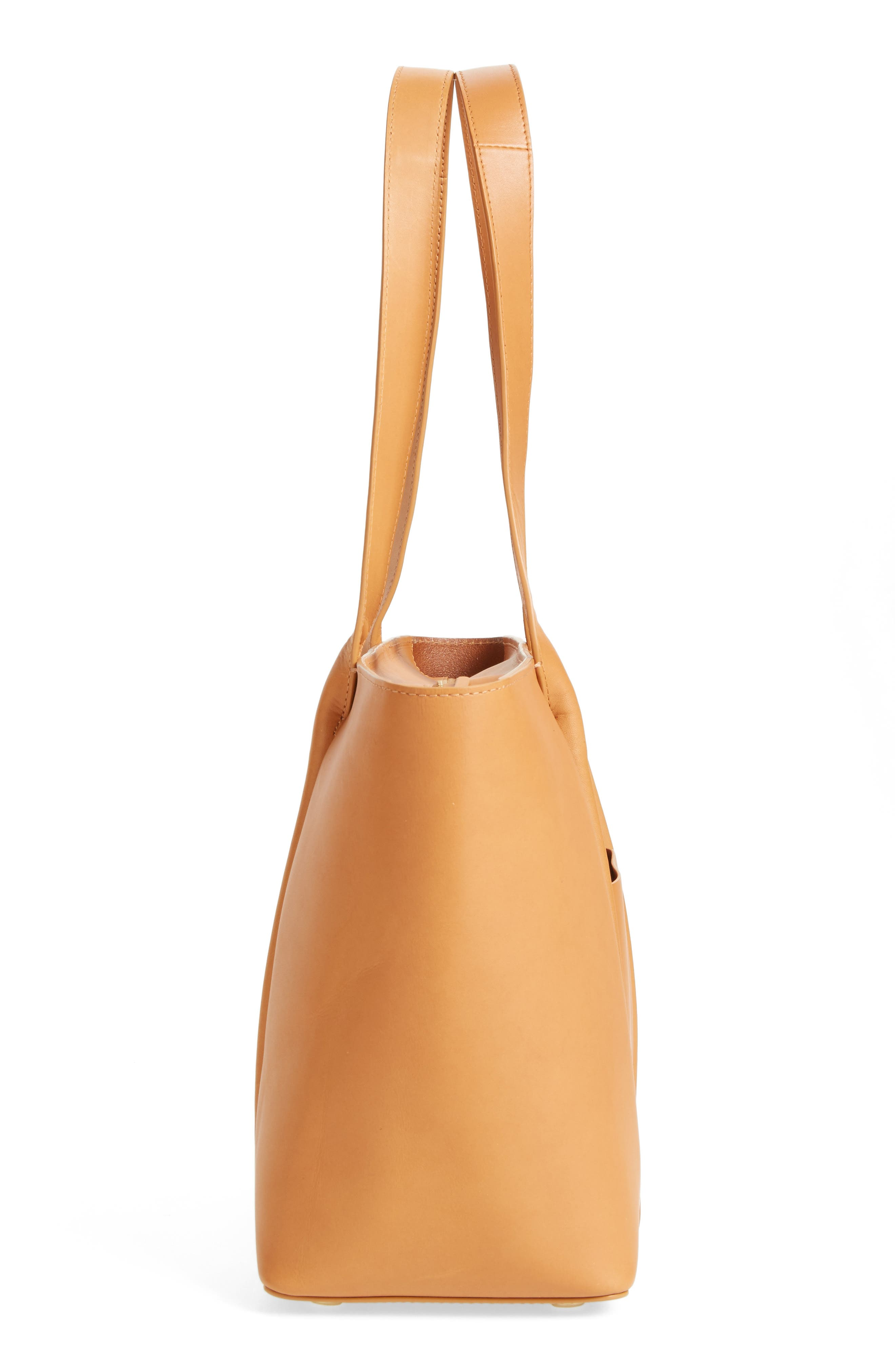 Lisabet Leather Tote,                             Alternate thumbnail 6, color,                             250