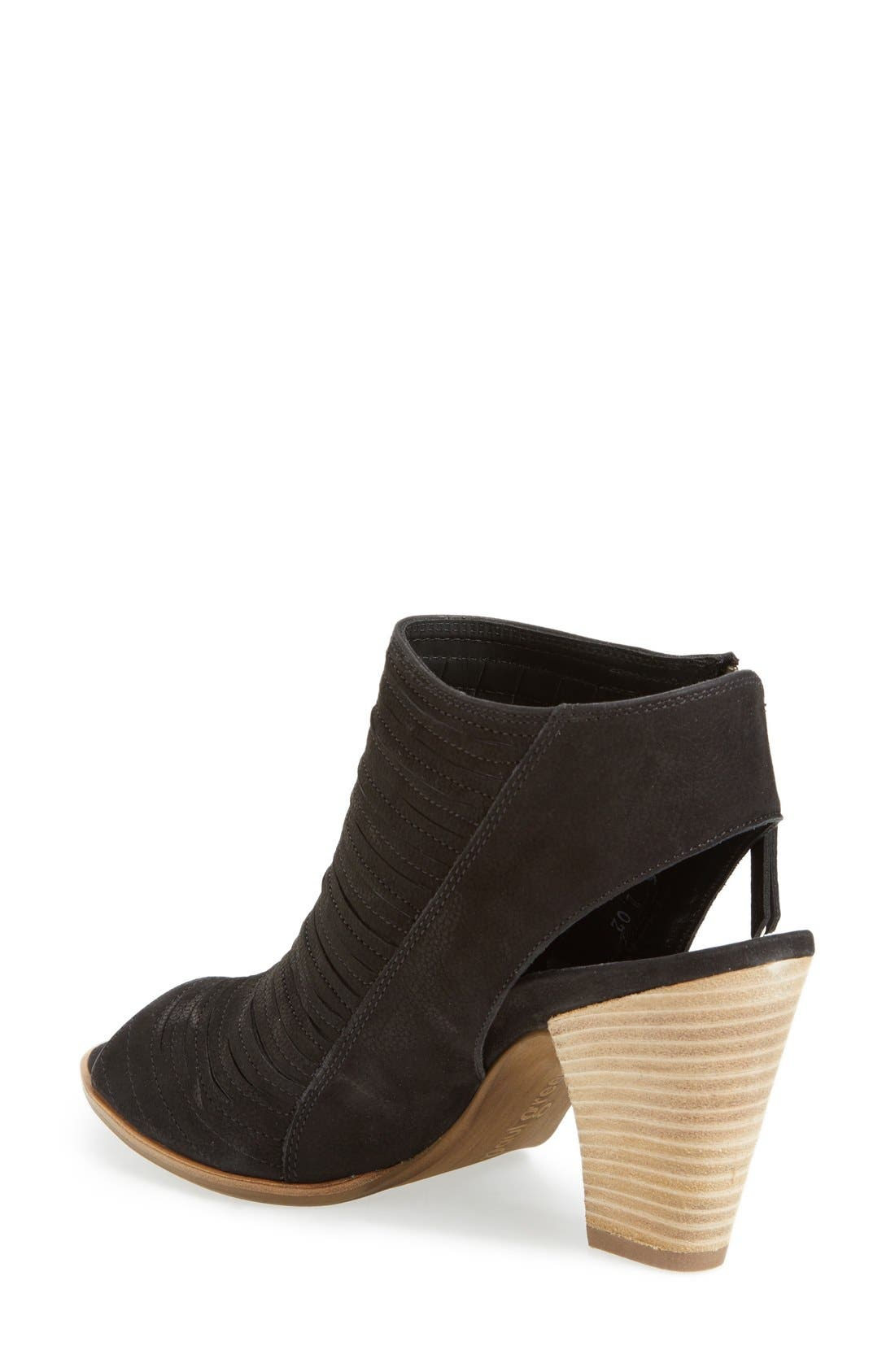 'Cayanne' Leather Peep Toe Sandal,                             Alternate thumbnail 33, color,