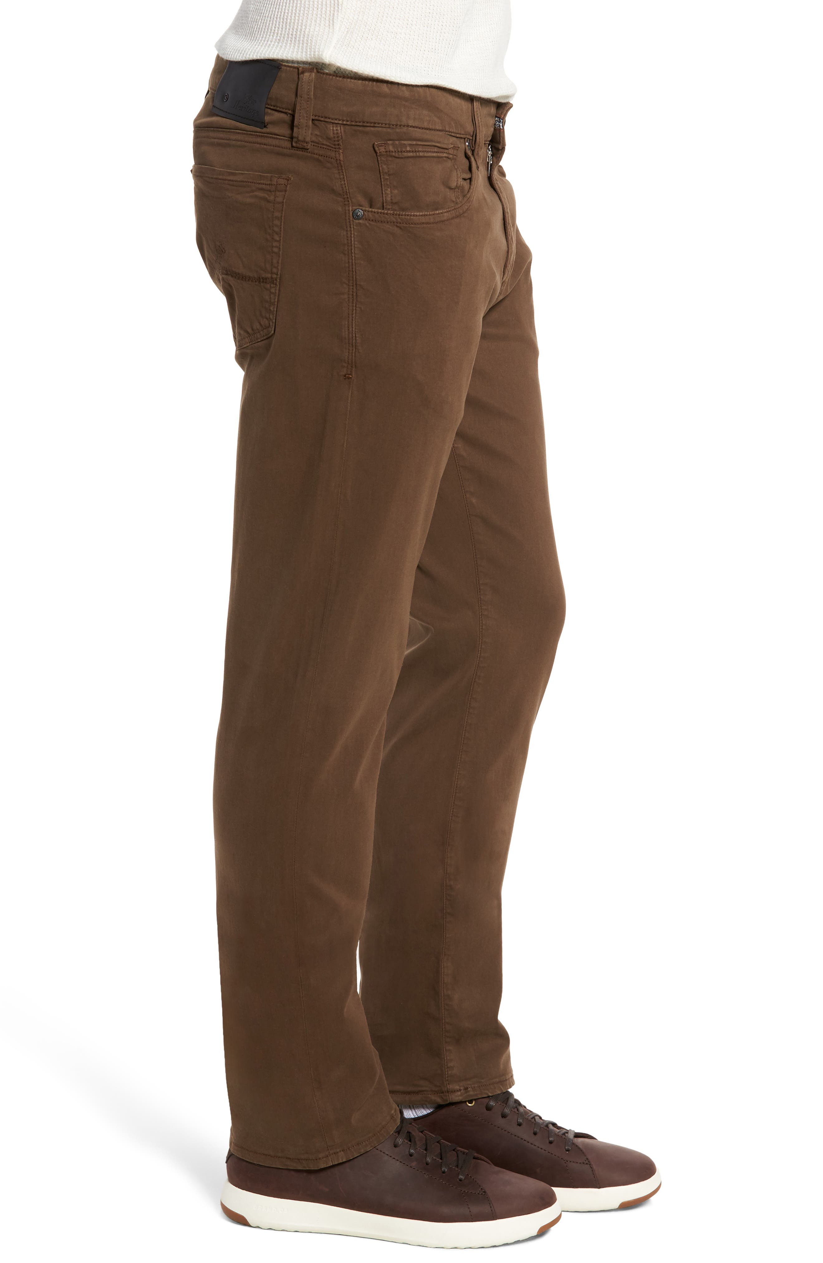 Courage Straight Leg Twill Pants,                             Alternate thumbnail 3, color,                             200