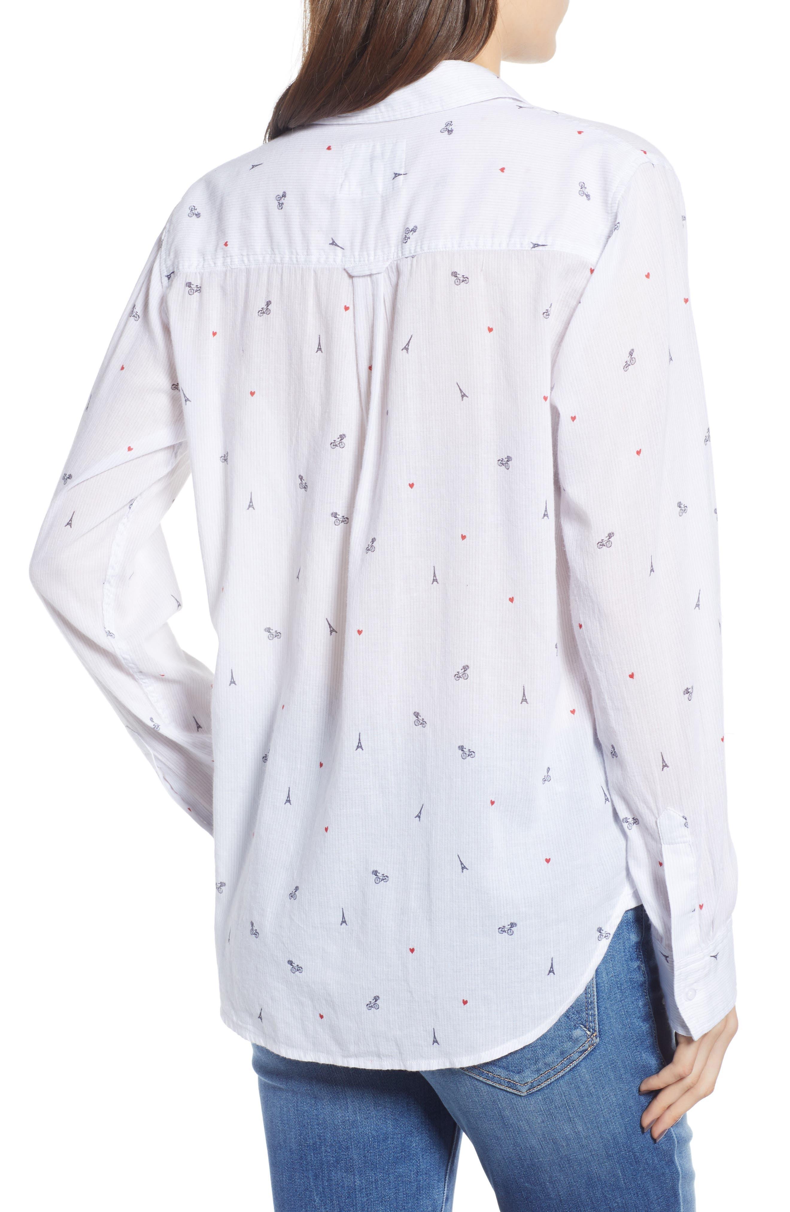 Taylor Star Stripe Shirt,                             Alternate thumbnail 2, color,                             LITTLE PARIS