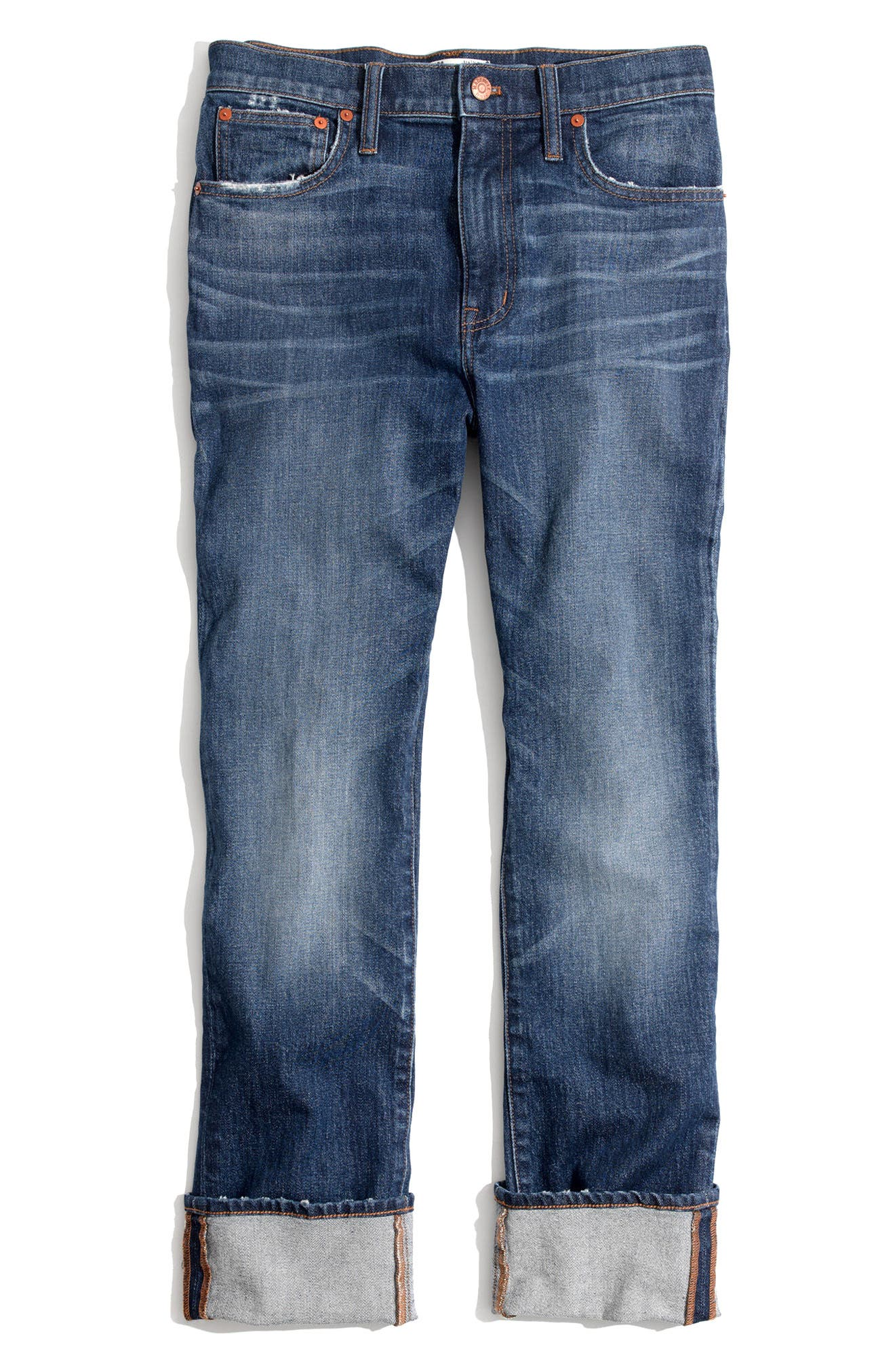 The High Rise Slim Boyjeans,                             Alternate thumbnail 6, color,                             401