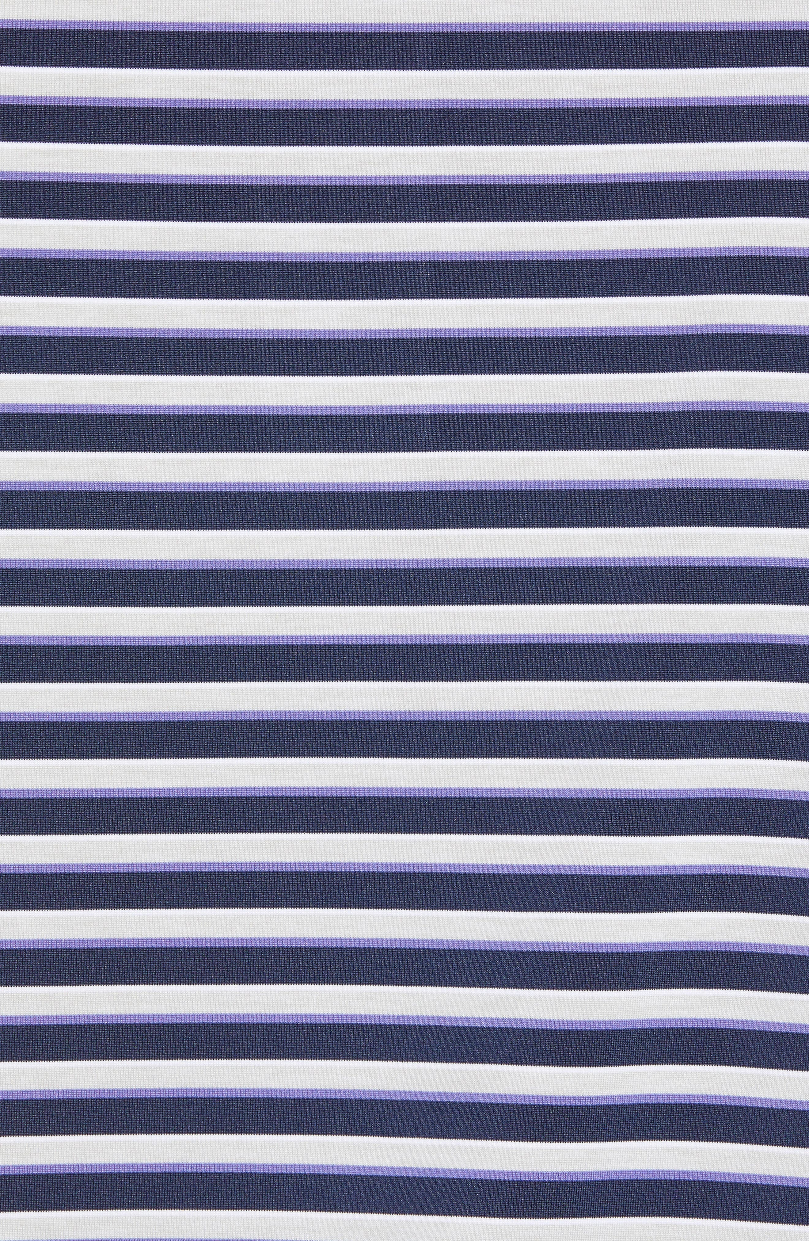 Camelot Stripe Stretch Jersey Polo,                             Alternate thumbnail 5, color,                             410