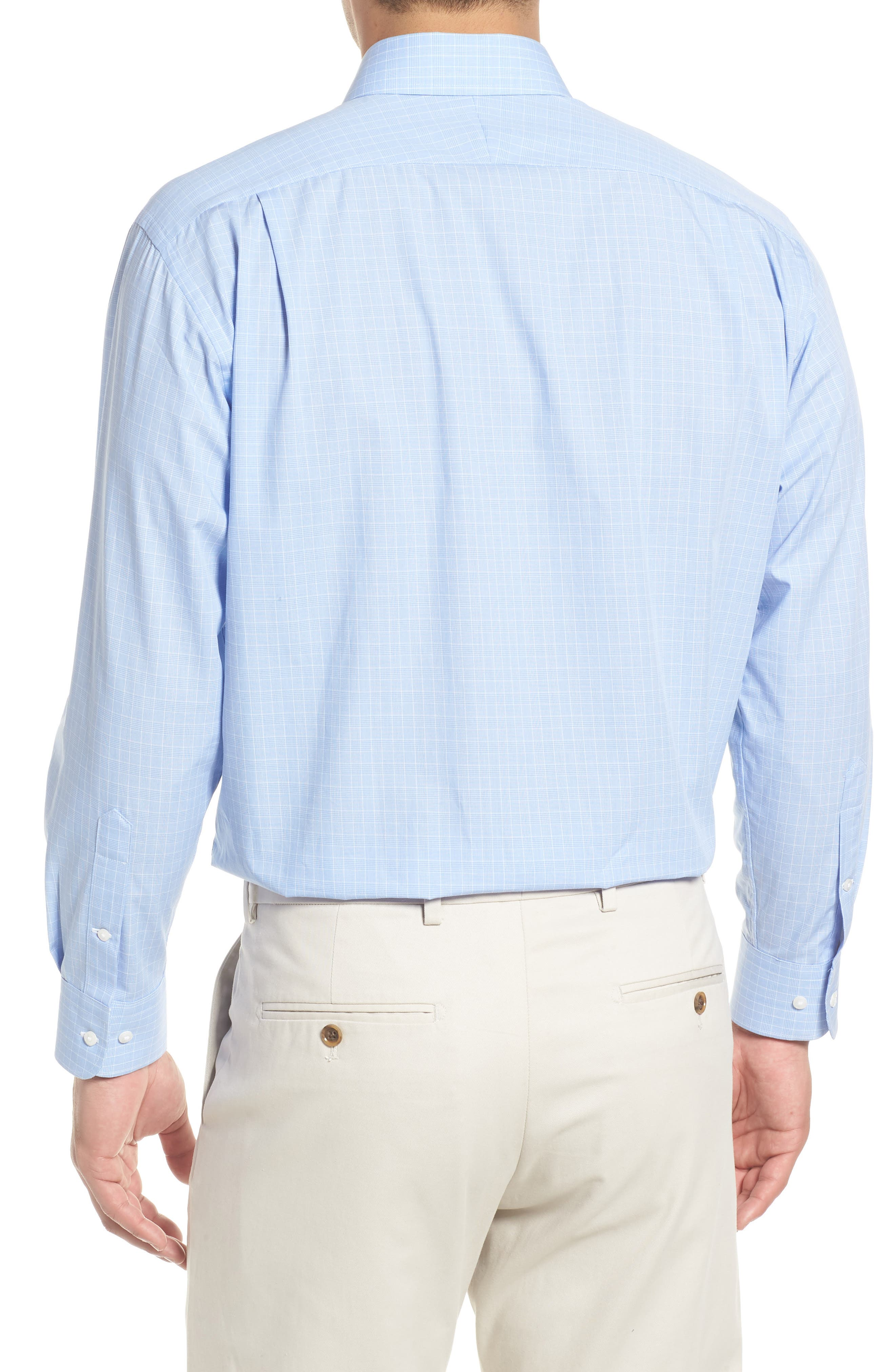 Traditional Fit Dress Shirt,                             Alternate thumbnail 3, color,                             420