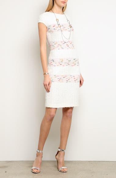 Flagged Stripe Knit Dress, video thumbnail