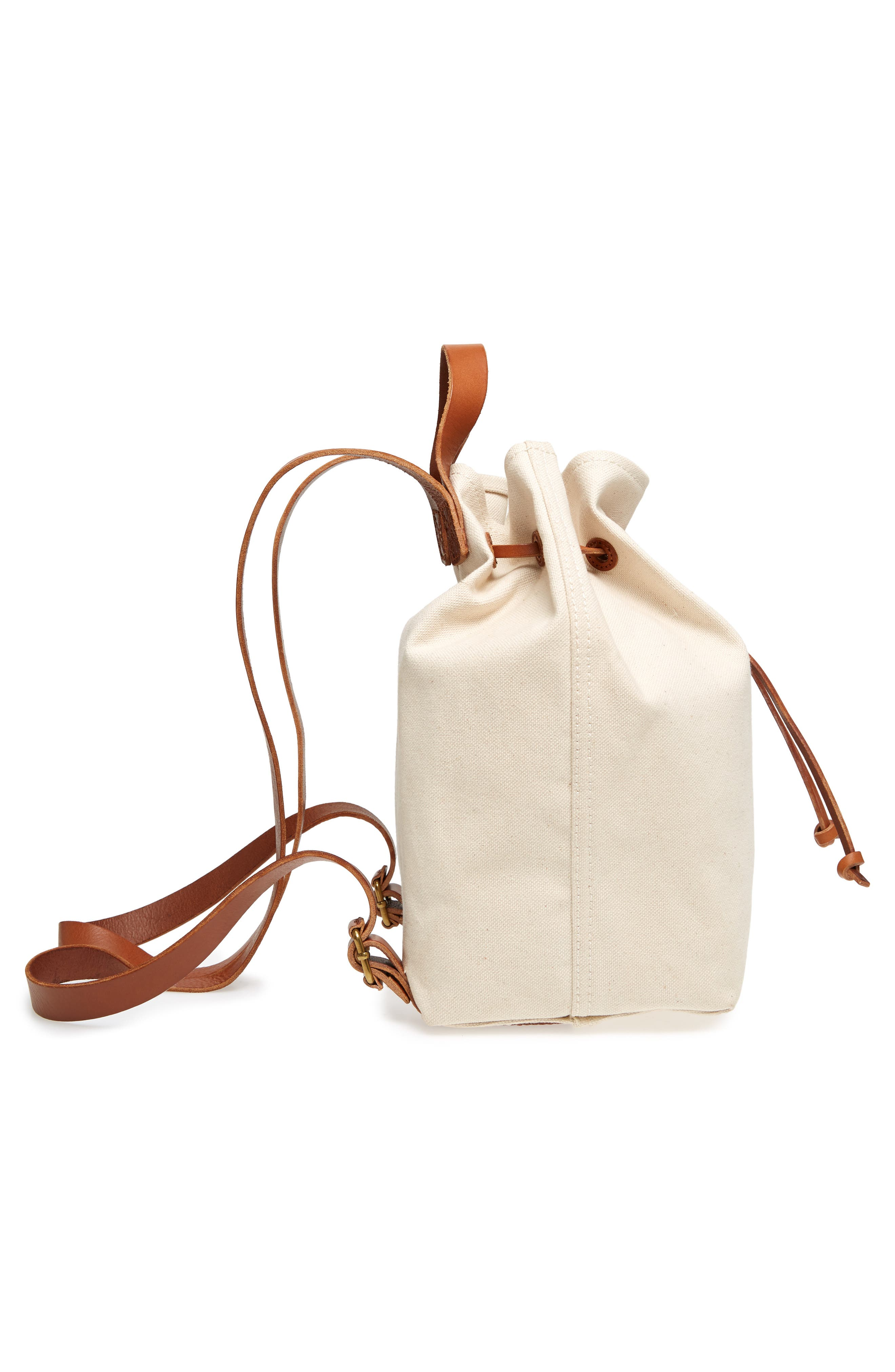 Somerset Canvas Backpack,                             Alternate thumbnail 19, color,