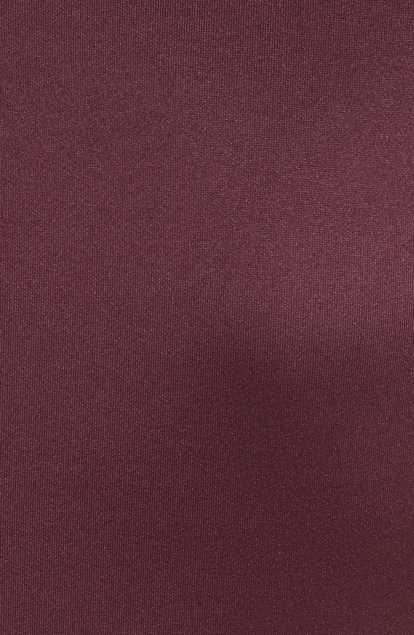 Mesh & Lace Trim Skater Dress,                             Alternate thumbnail 10, color,