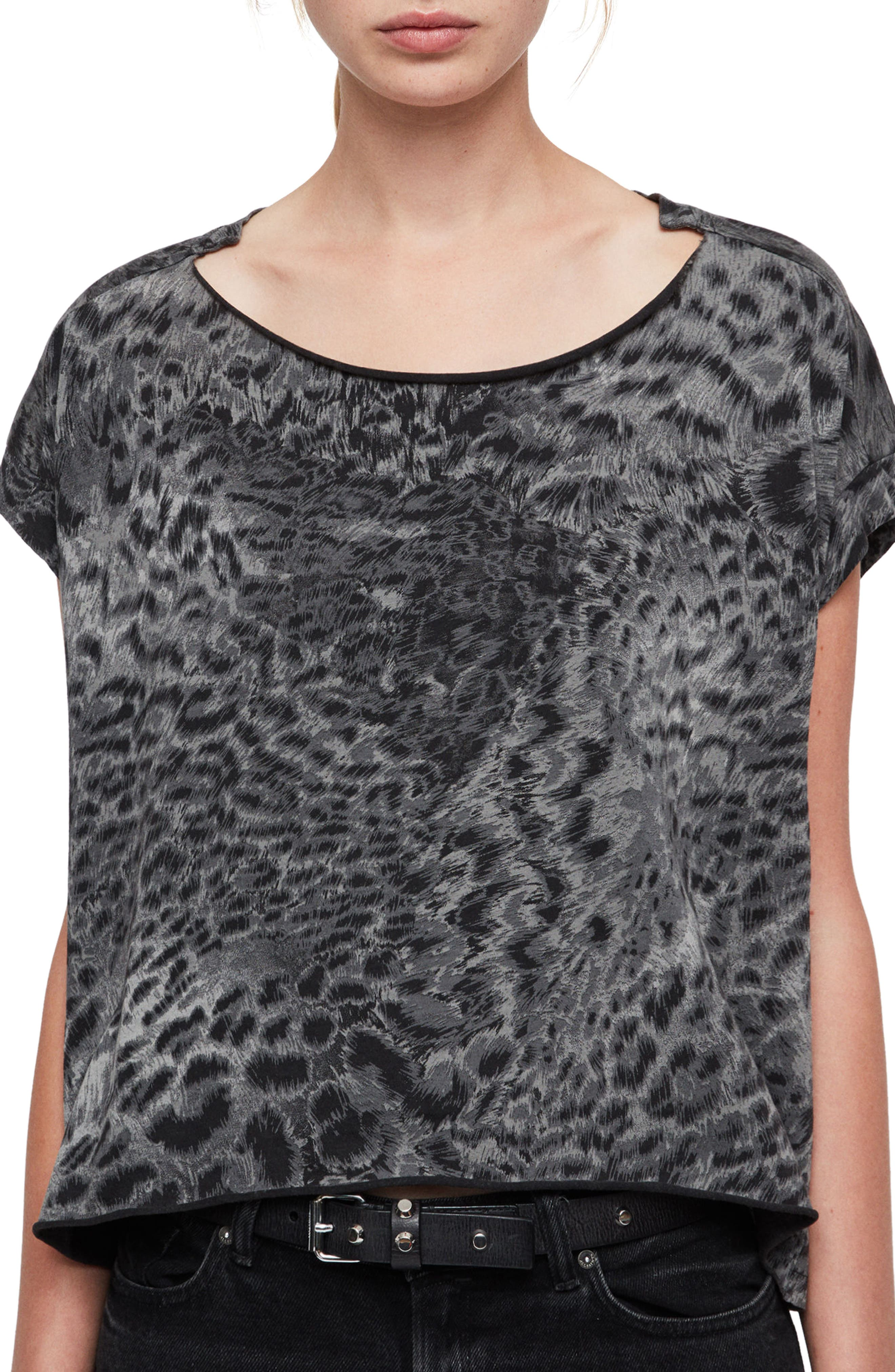 Paw Pina Tee,                         Main,                         color, FADEOUT BLACK