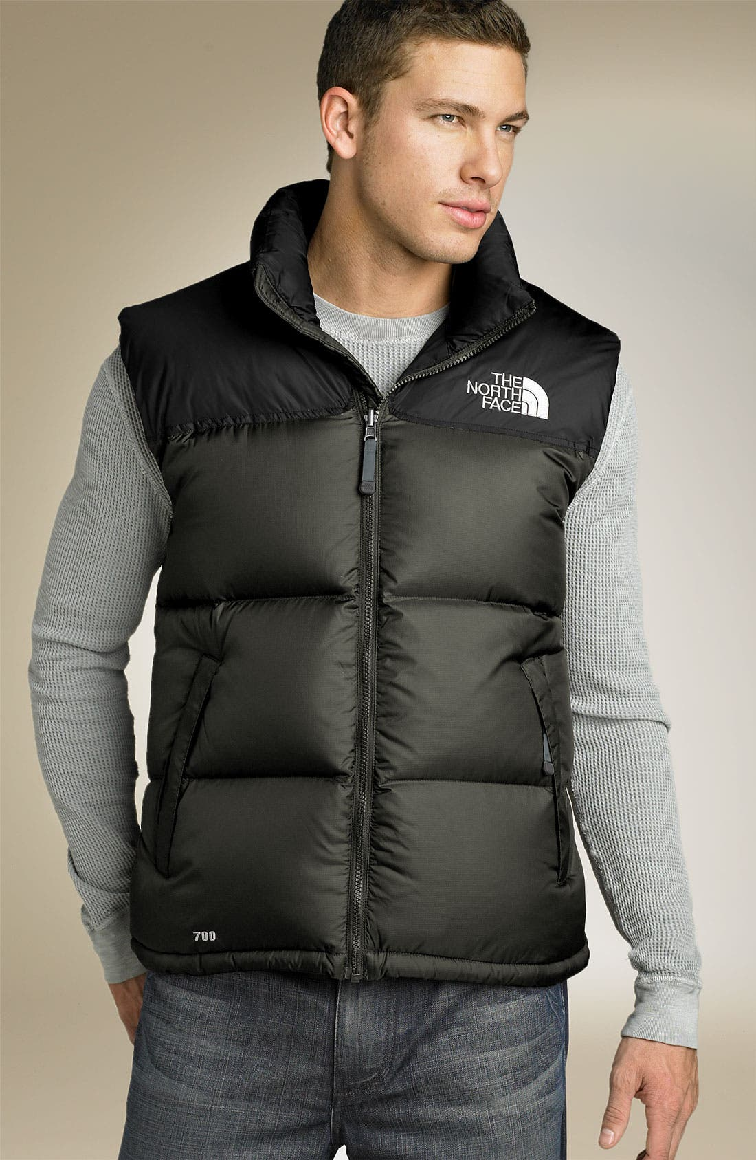 'Nuptse' Quilted Vest,                             Main thumbnail 6, color,