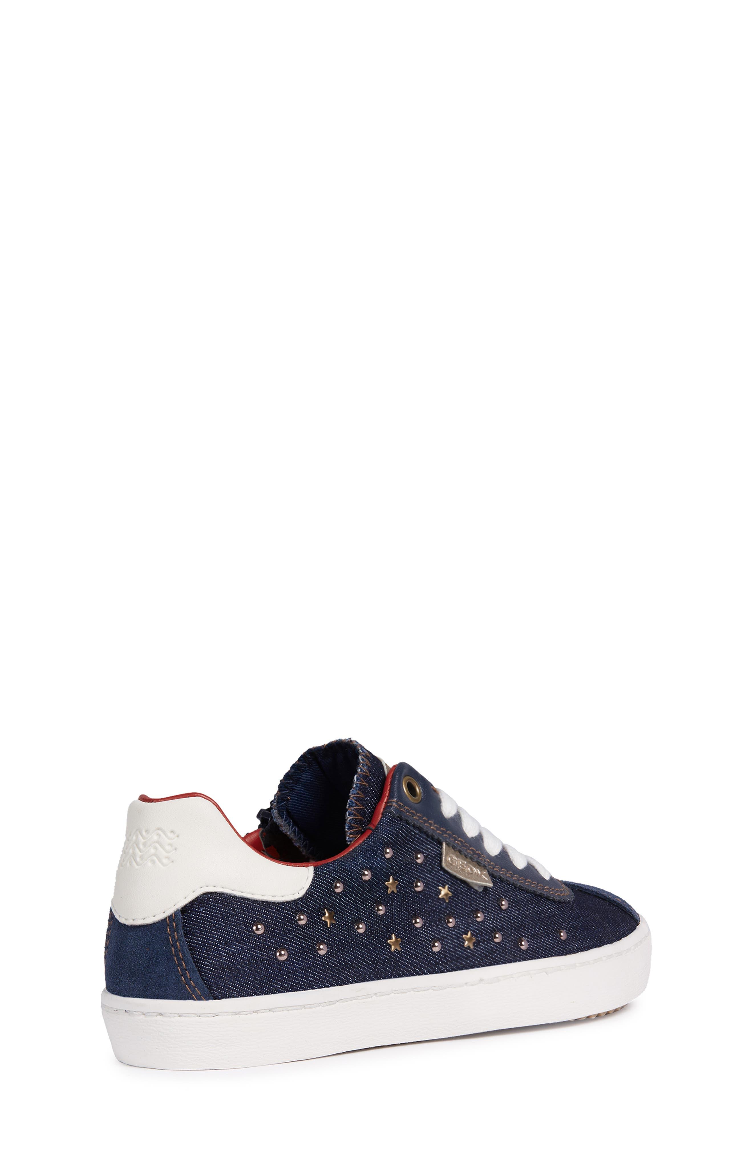 Kilwi Zip Low Top Sneaker,                             Alternate thumbnail 6, color,                             NAVY