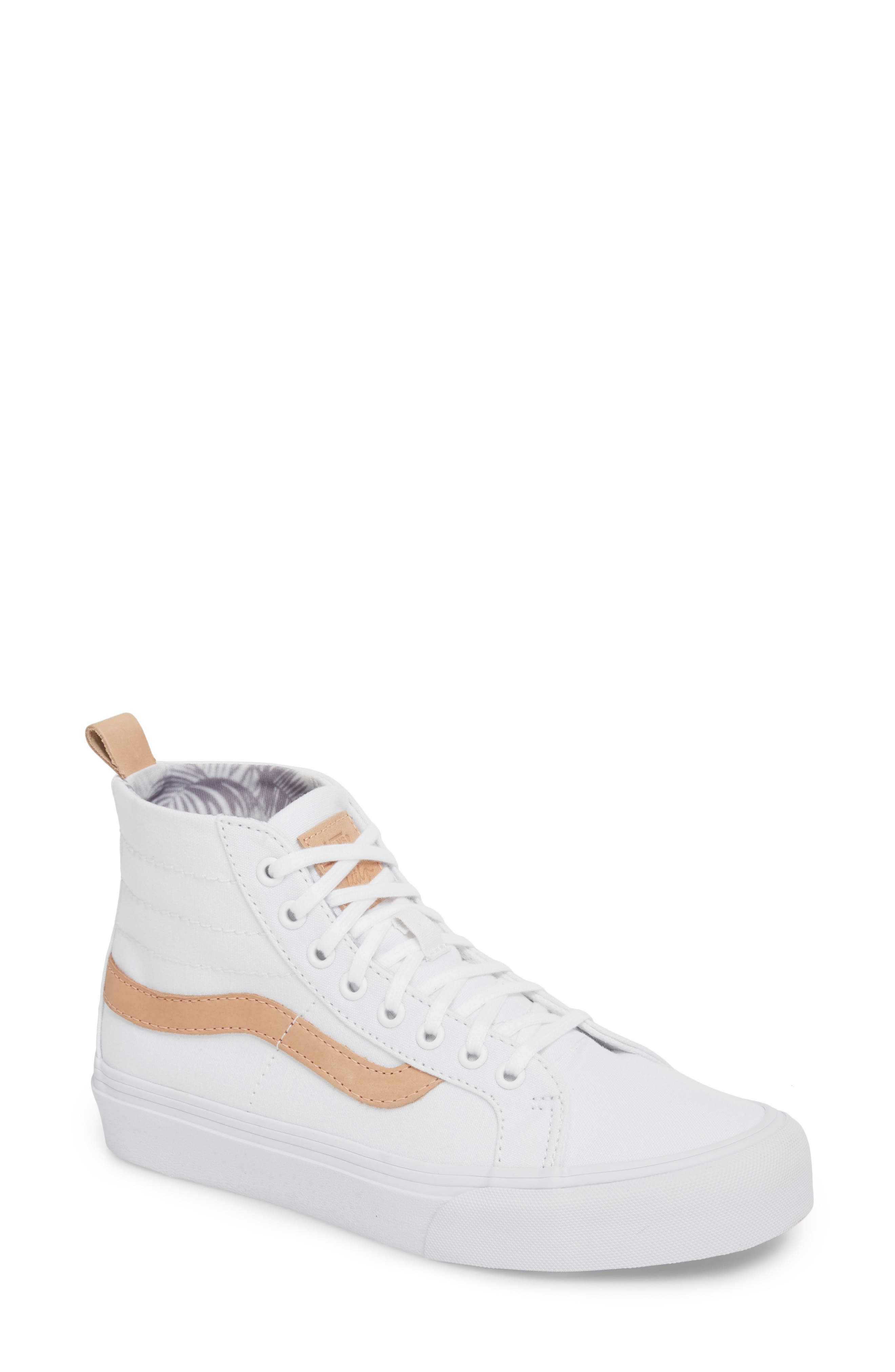 x Leila Hurst Sk8-Hi Decon SF Sneaker,                         Main,                         color, 100