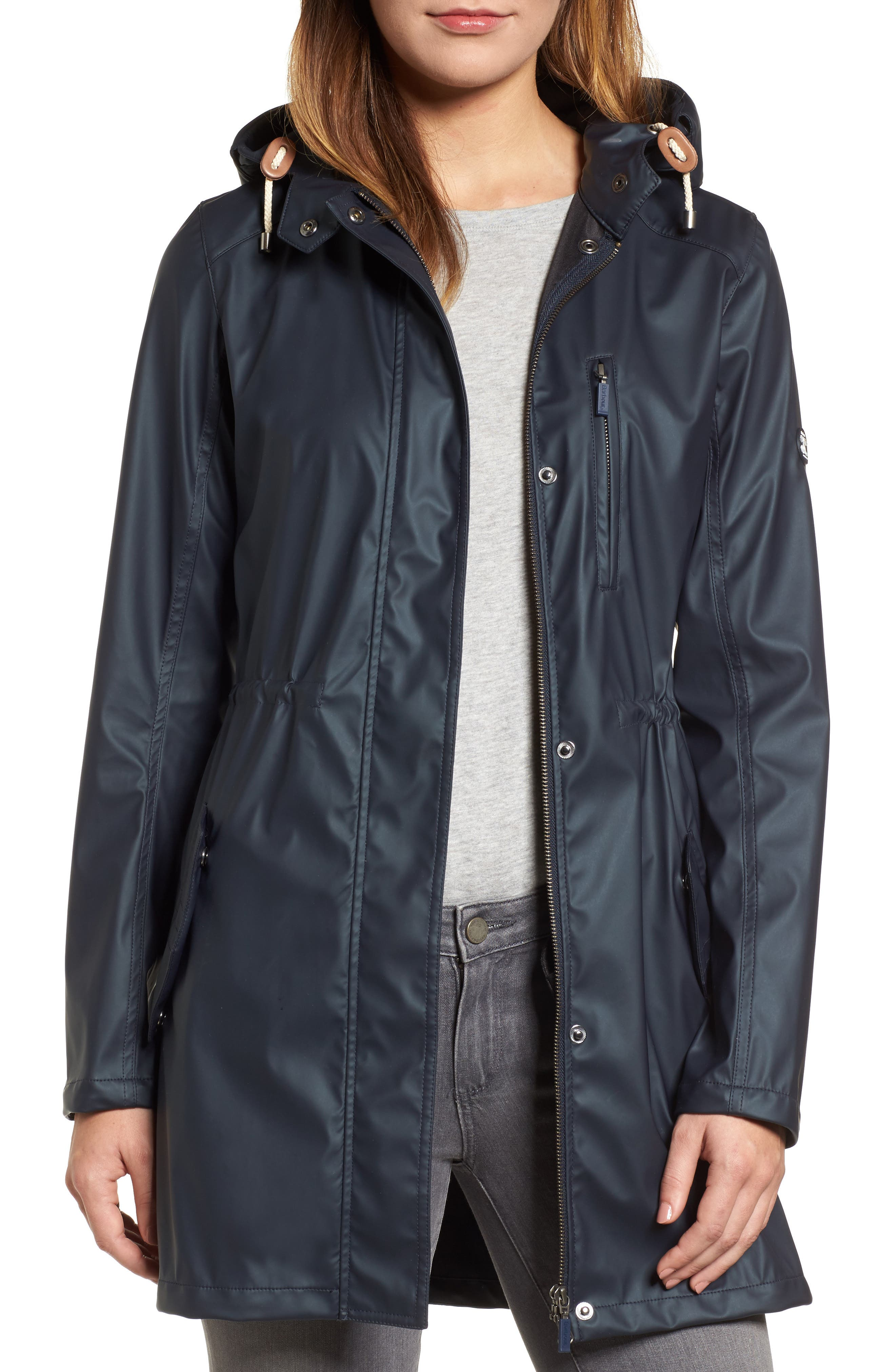 Harbour Hooded Jacket,                         Main,                         color, 410