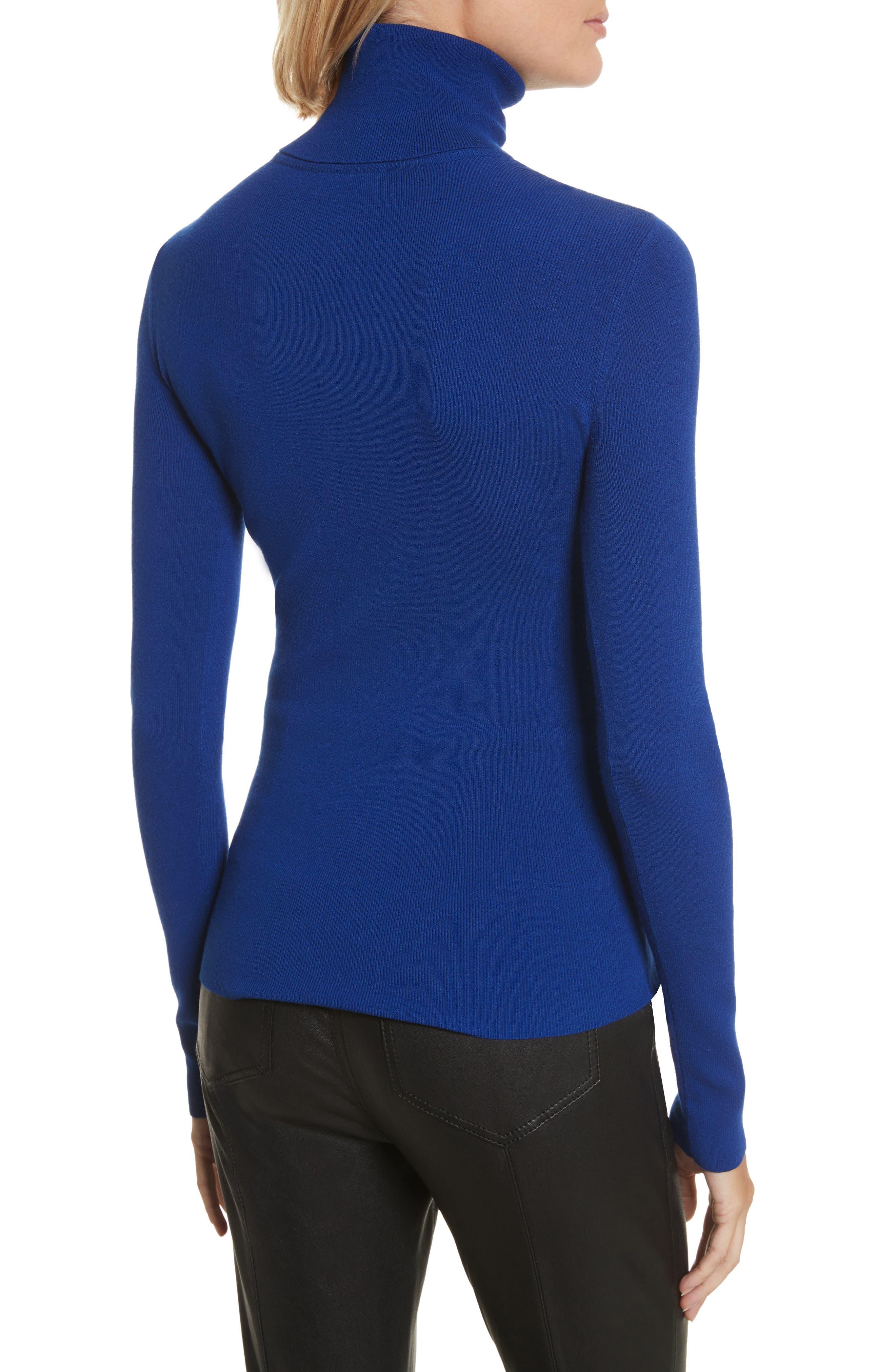 Camden Cutout Turtleneck Sweater,                             Alternate thumbnail 4, color,