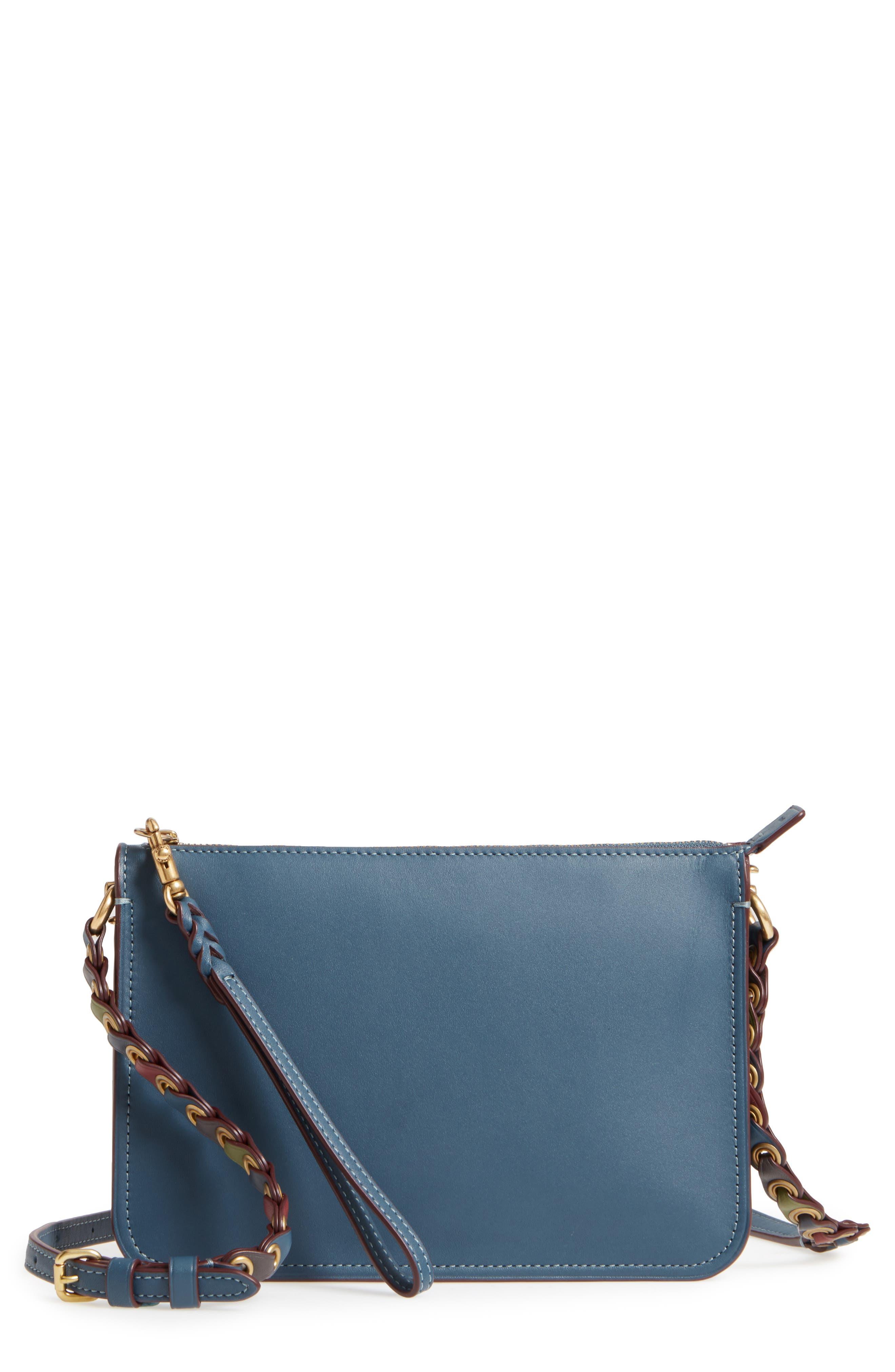 Soho Leather Crossbody Bag,                         Main,                         color,