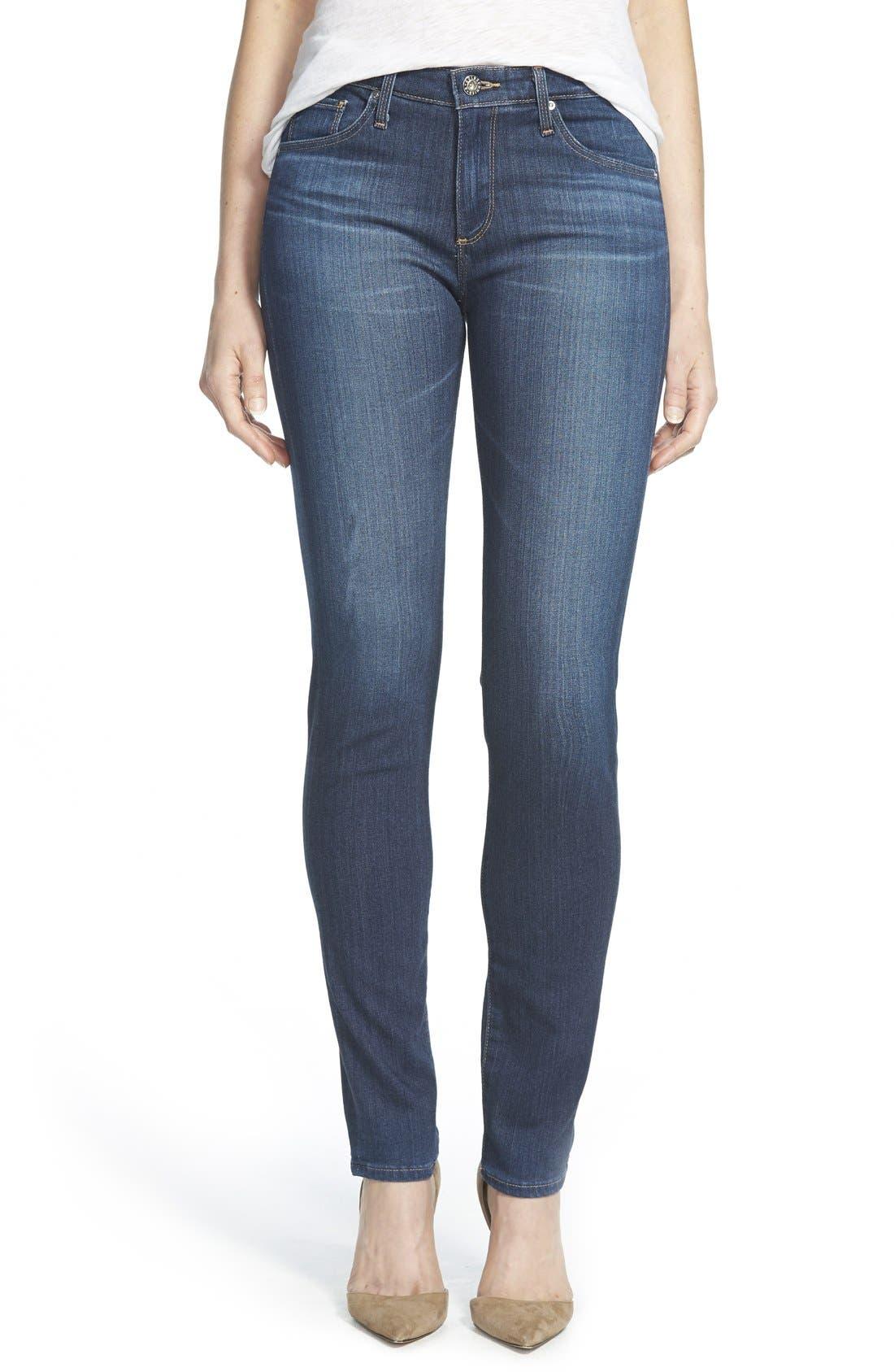 'Prima' Skinny Jeans,                             Main thumbnail 4, color,