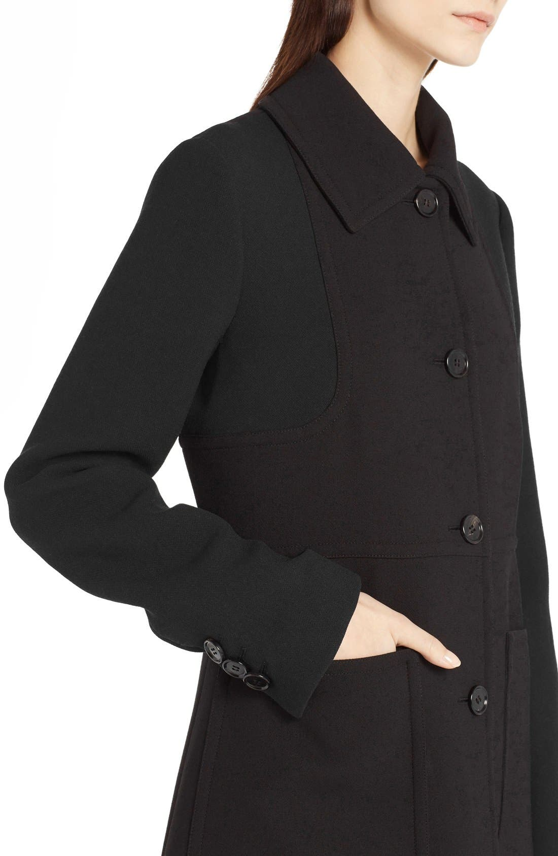 Wool Coat,                             Alternate thumbnail 2, color,                             001