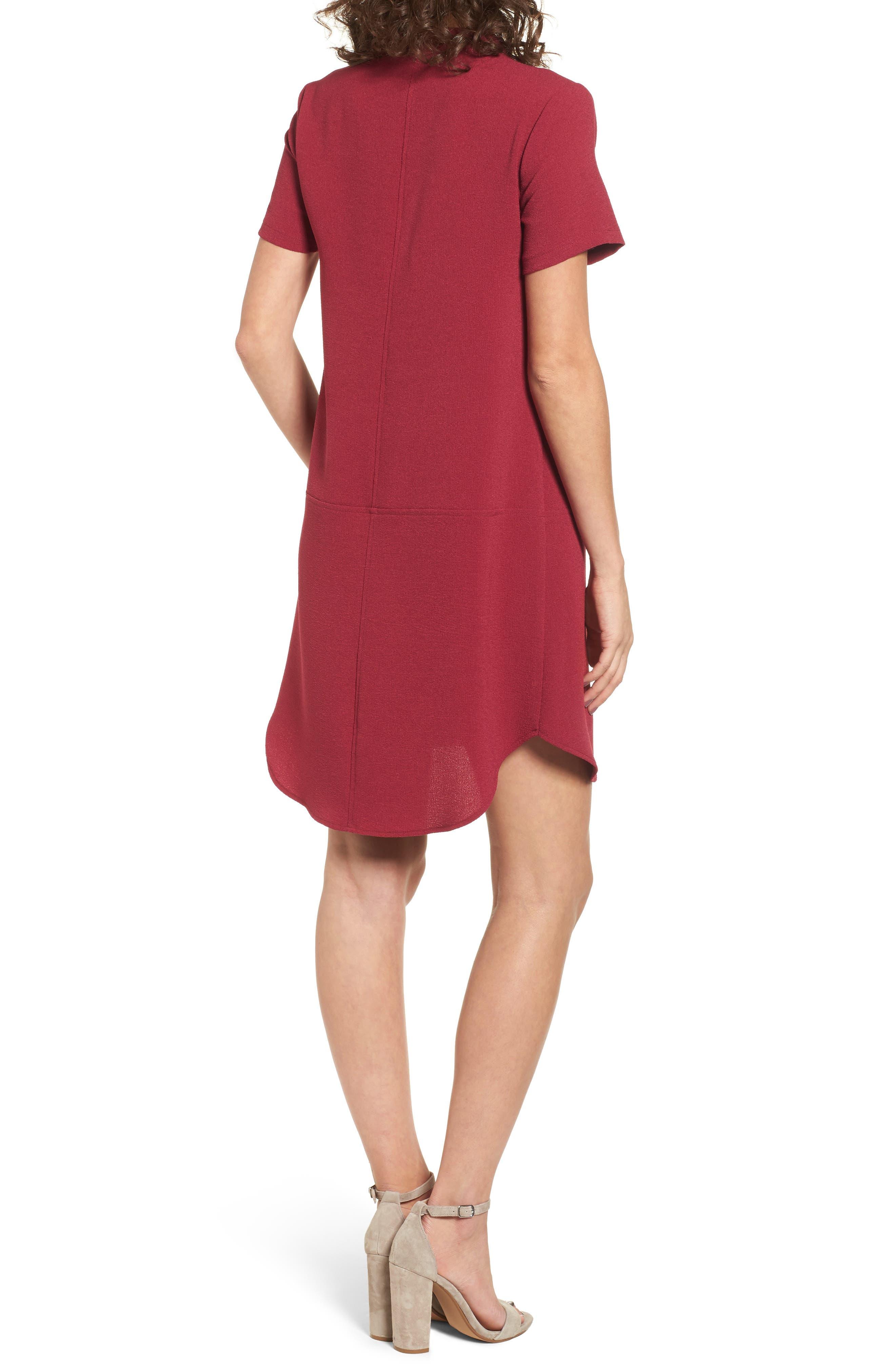 Hailey Crepe Dress,                             Alternate thumbnail 52, color,